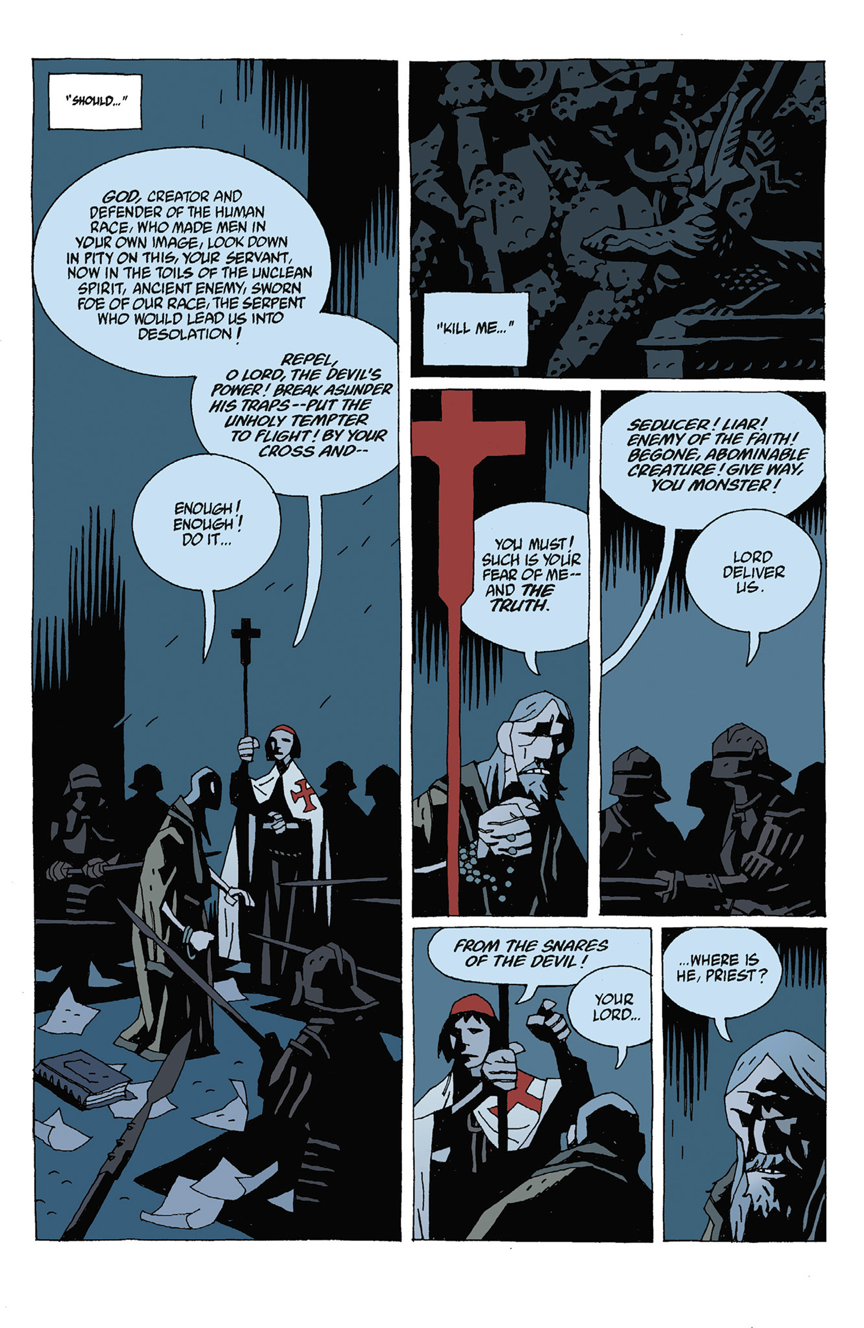 Read online Hellboy: Strange Places comic -  Issue # TPB - 81