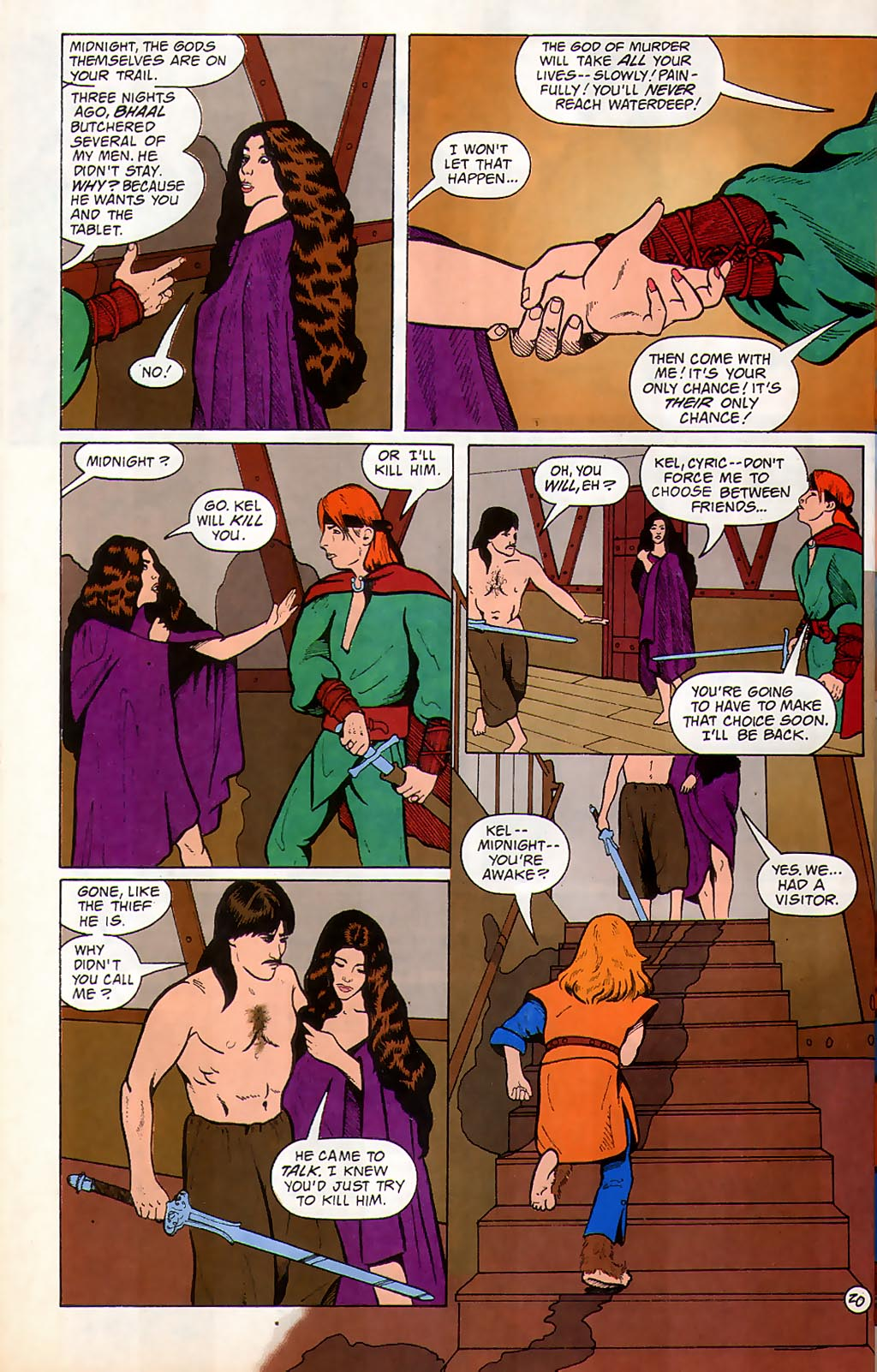 Read online Avatar comic -  Issue #3 - 22