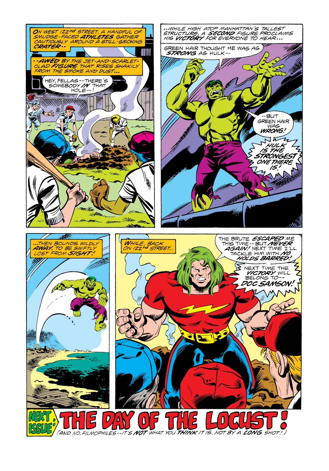 Read online Marvel Masterworks: The Incredible Hulk comic -  Issue # TPB 11 (Part 2) - 95