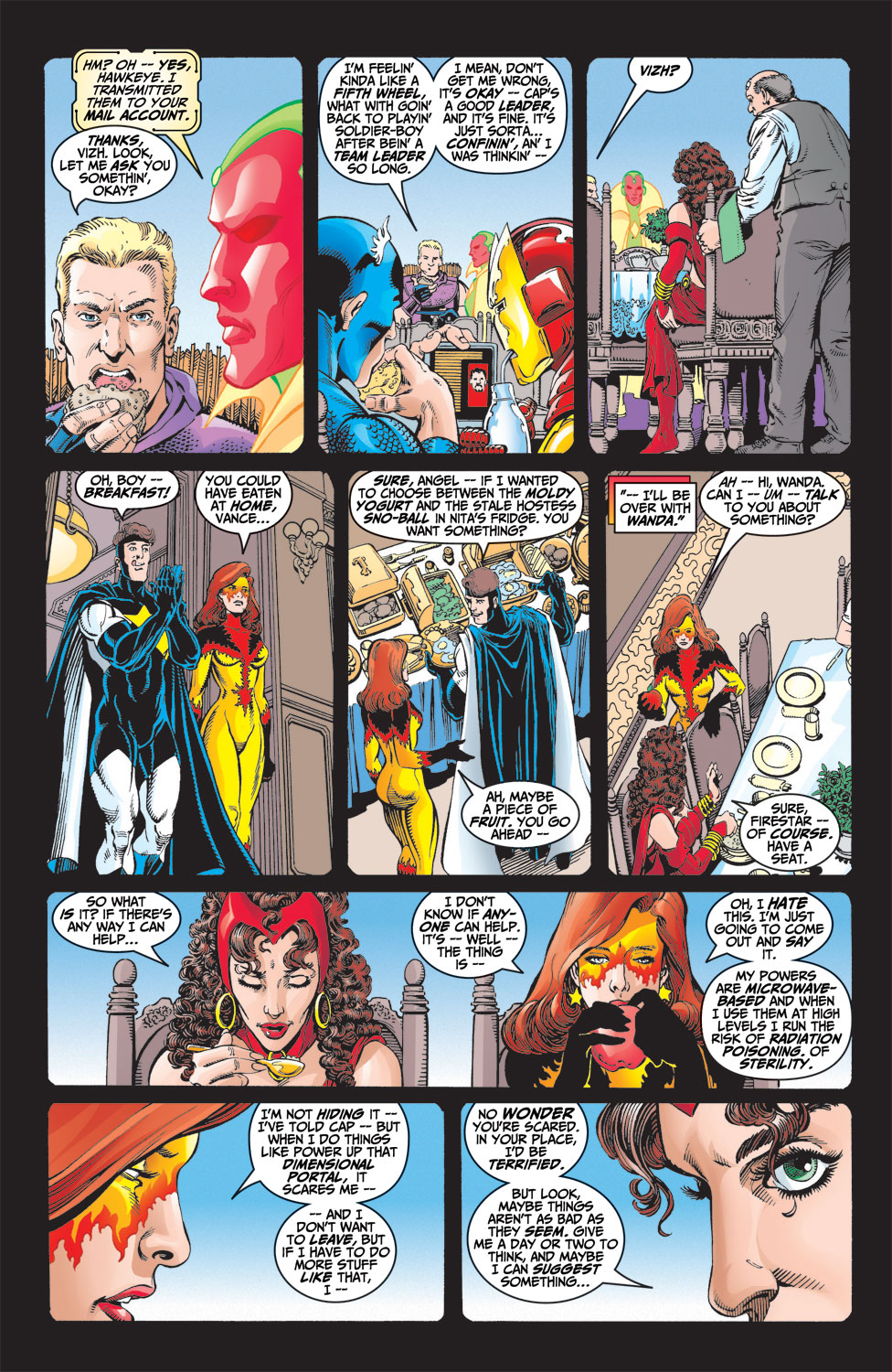 Read online Avengers (1998) comic -  Issue #9 - 5