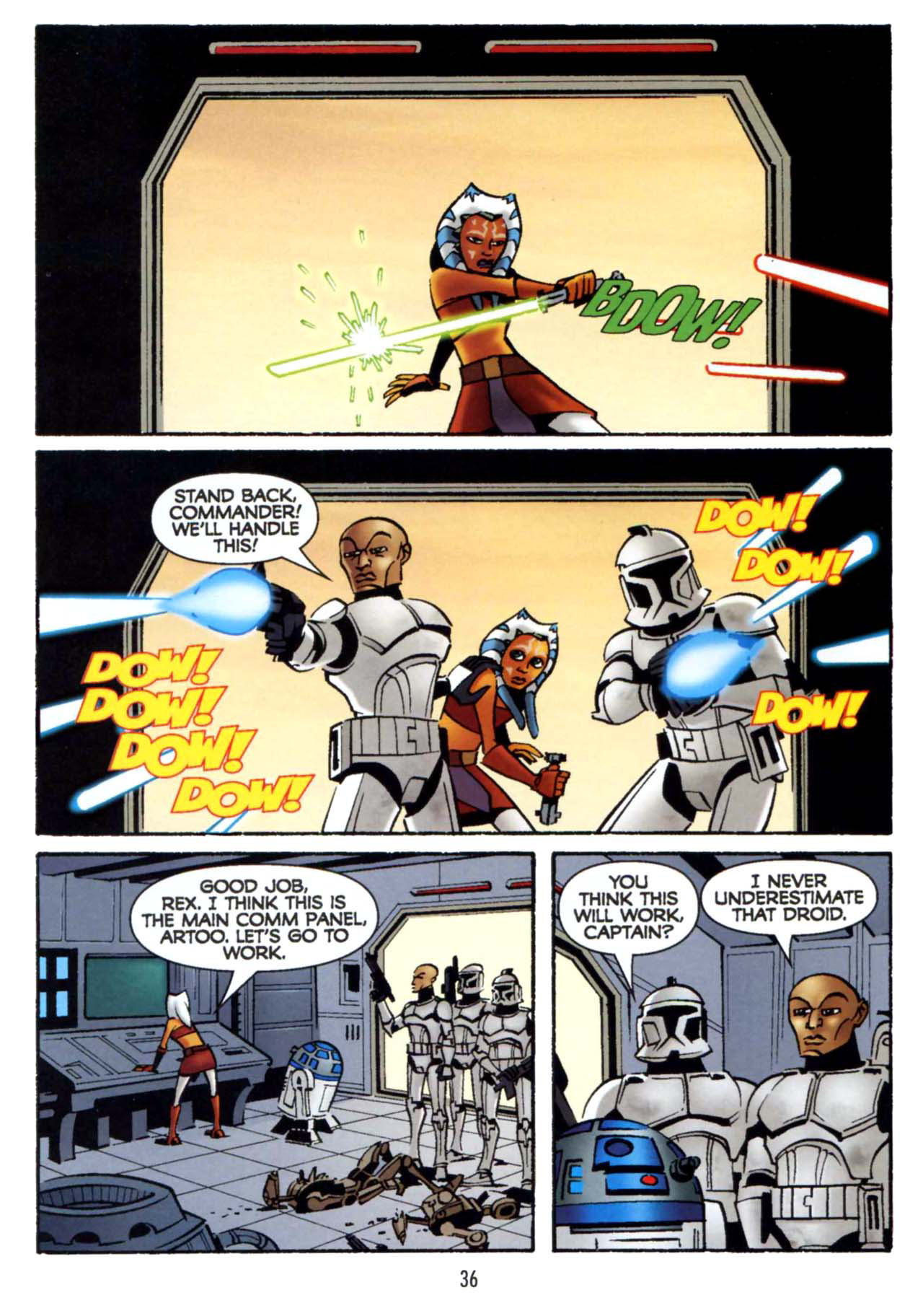 Read online Star Wars: The Clone Wars - Shipyards of Doom comic -  Issue # Full - 34