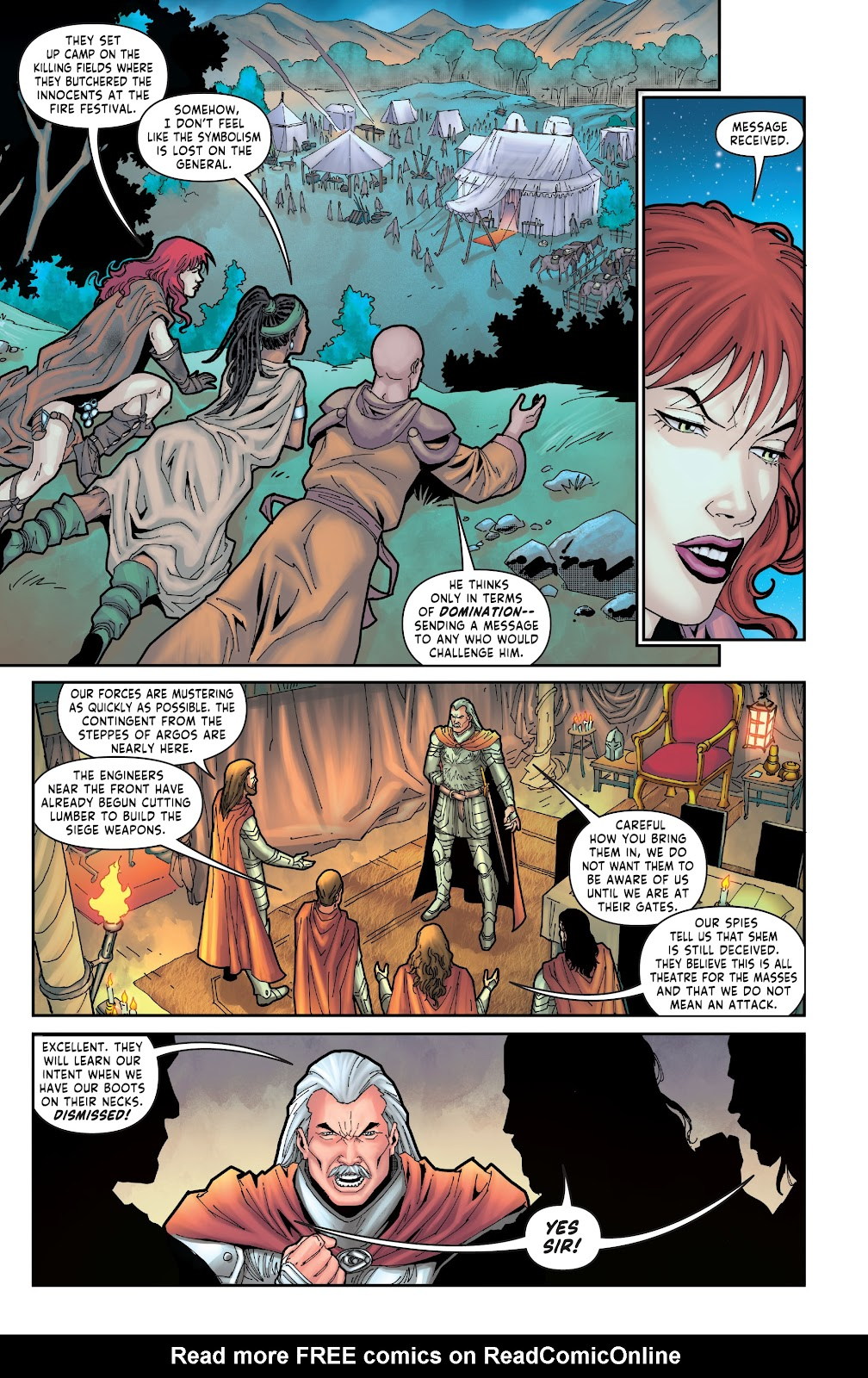 Red Sonja: The Price of Blood issue 3 - Page 7