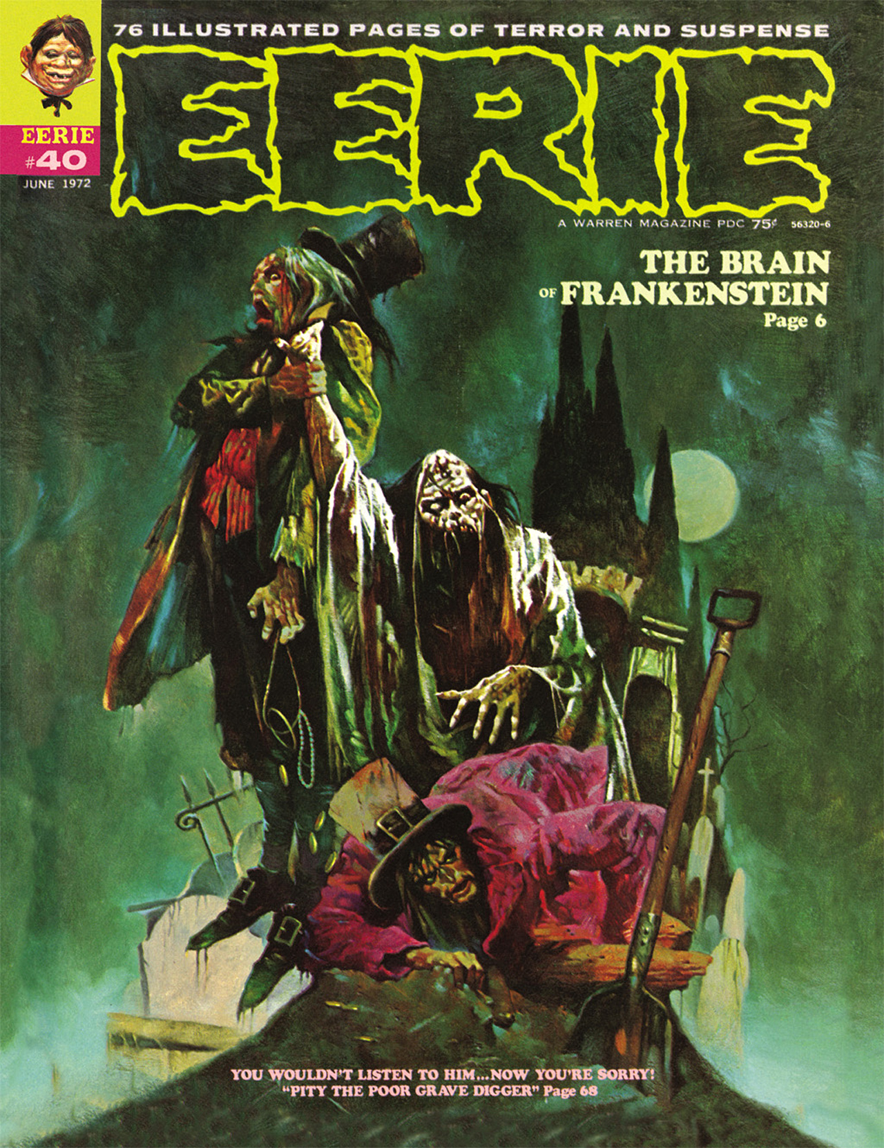 Read online Eerie Archives comic -  Issue # TPB 8 - 182