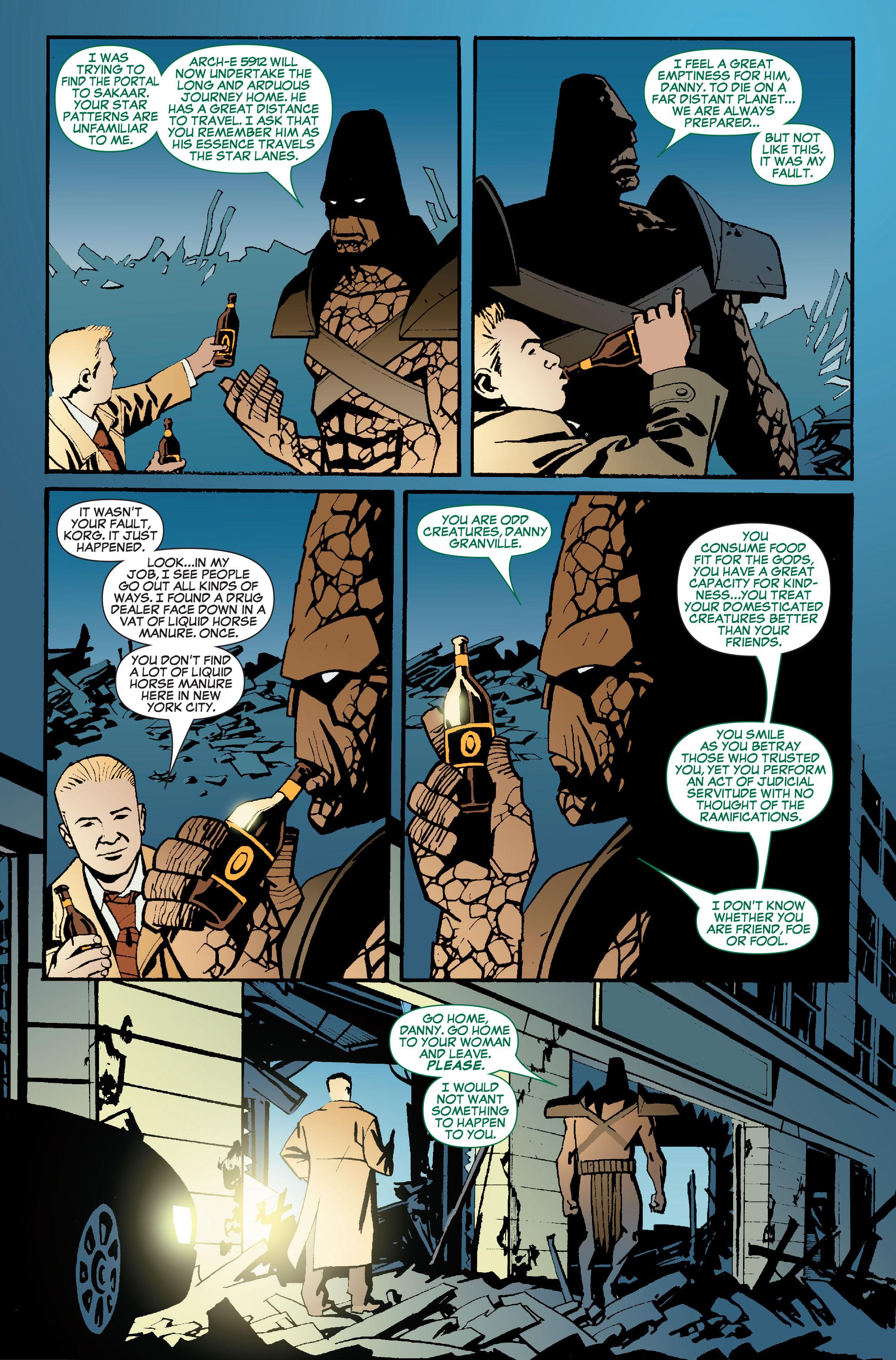 Read online World War Hulk: Front Line comic -  Issue #5 - 21