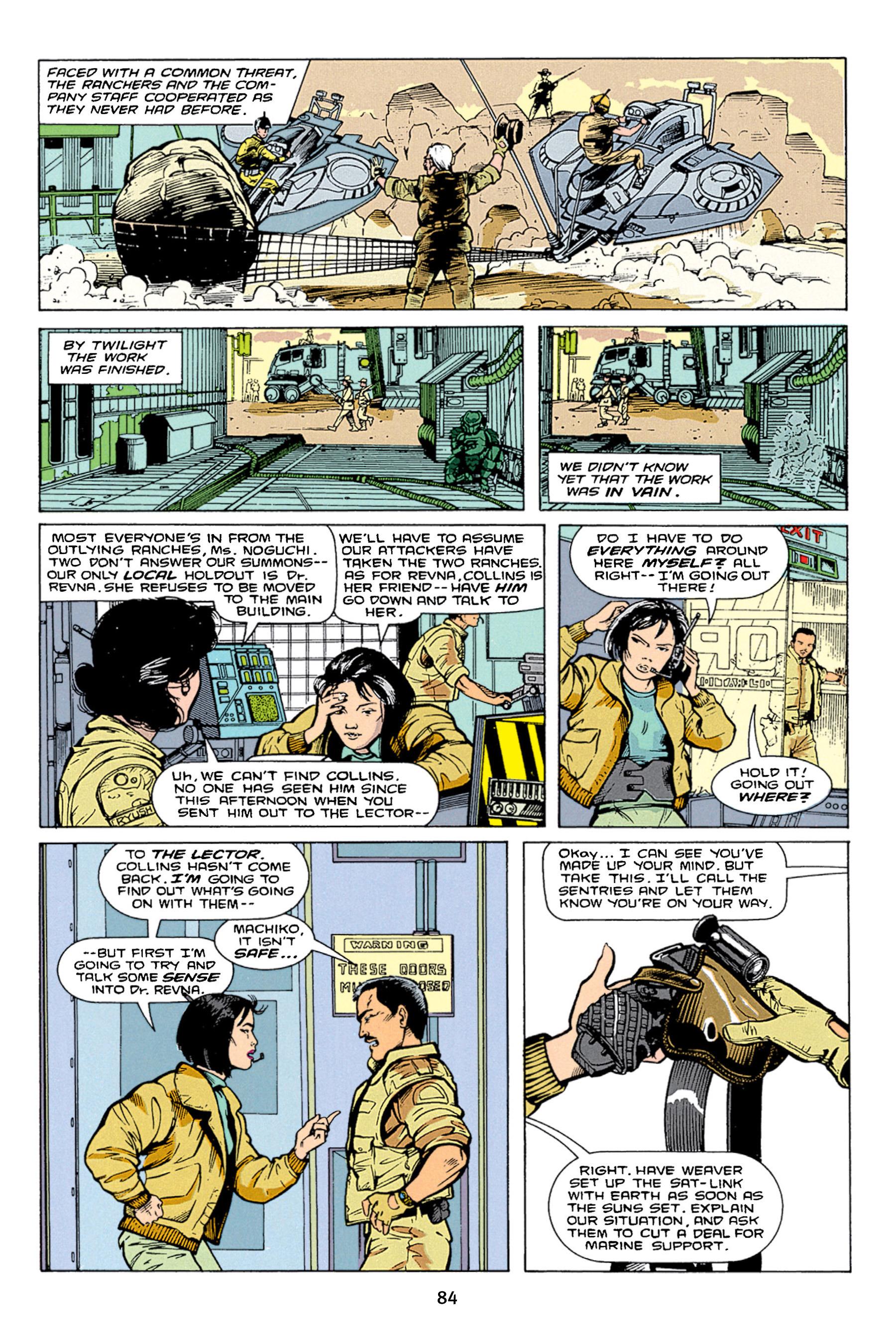 Read online Aliens vs. Predator Omnibus comic -  Issue # _TPB 1 Part 1 - 84