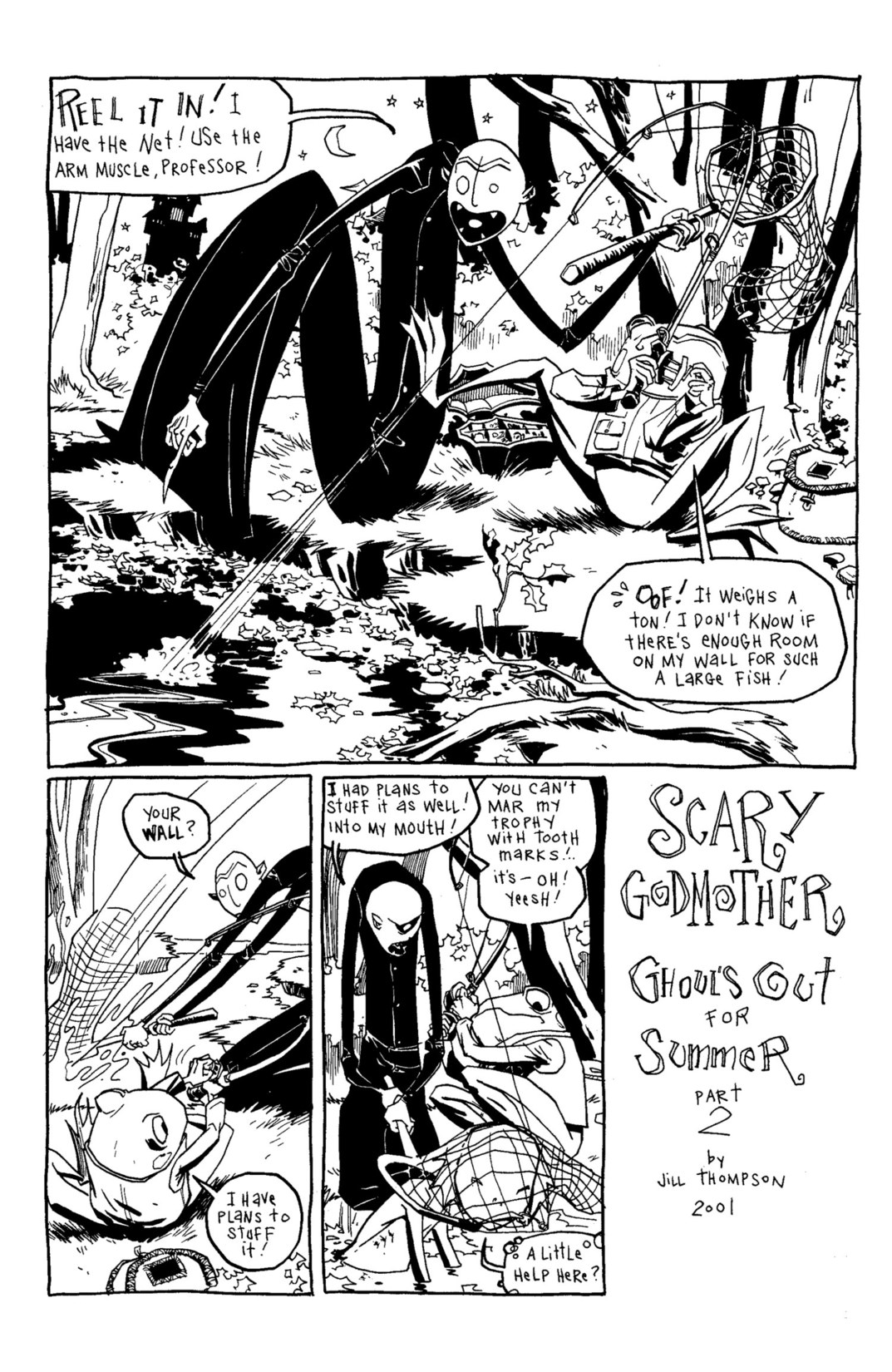 Read online Scary Godmother Comic Book Stories comic -  Issue # TPB - 162