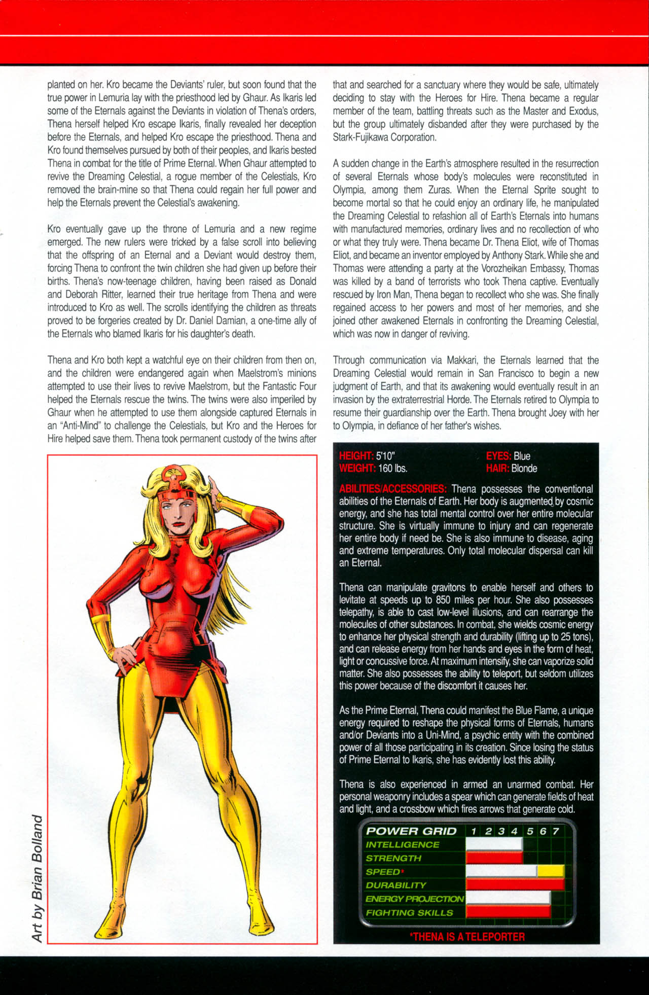 Read online All-New Official Handbook of the Marvel Universe A to Z: Update comic -  Issue #2 - 57