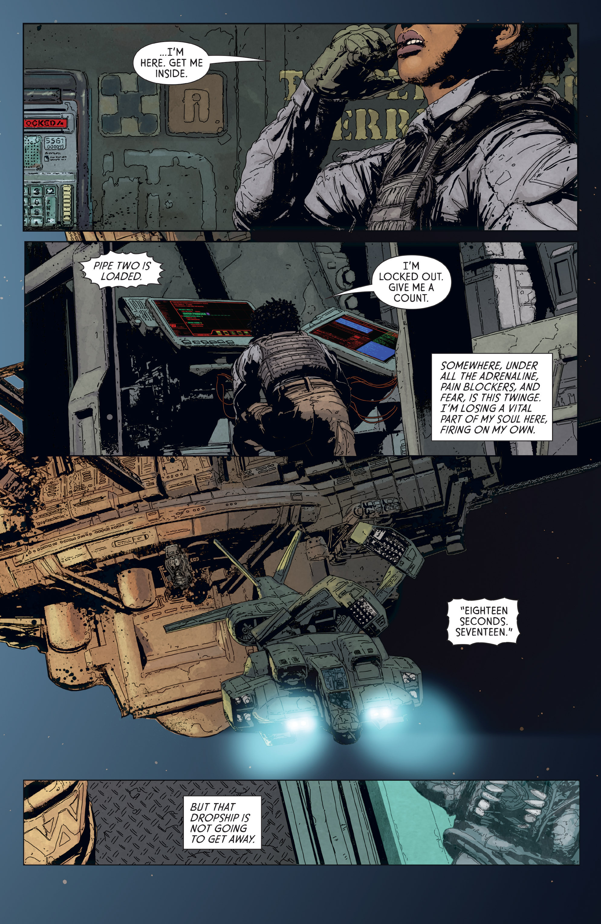 Read online Aliens: Defiance comic -  Issue #6 - 18