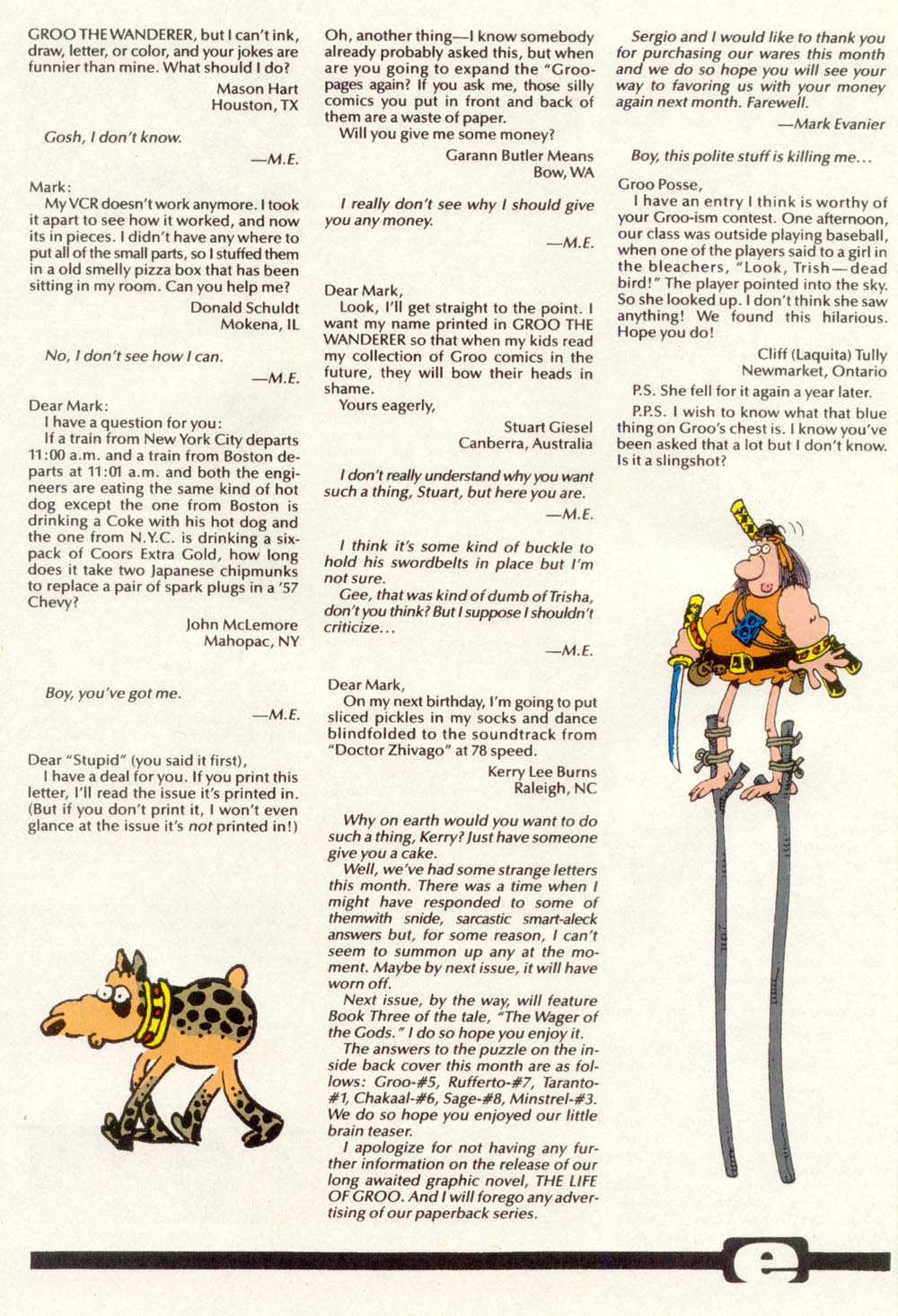 Read online Sergio Aragonés Groo the Wanderer comic -  Issue #97 - 31