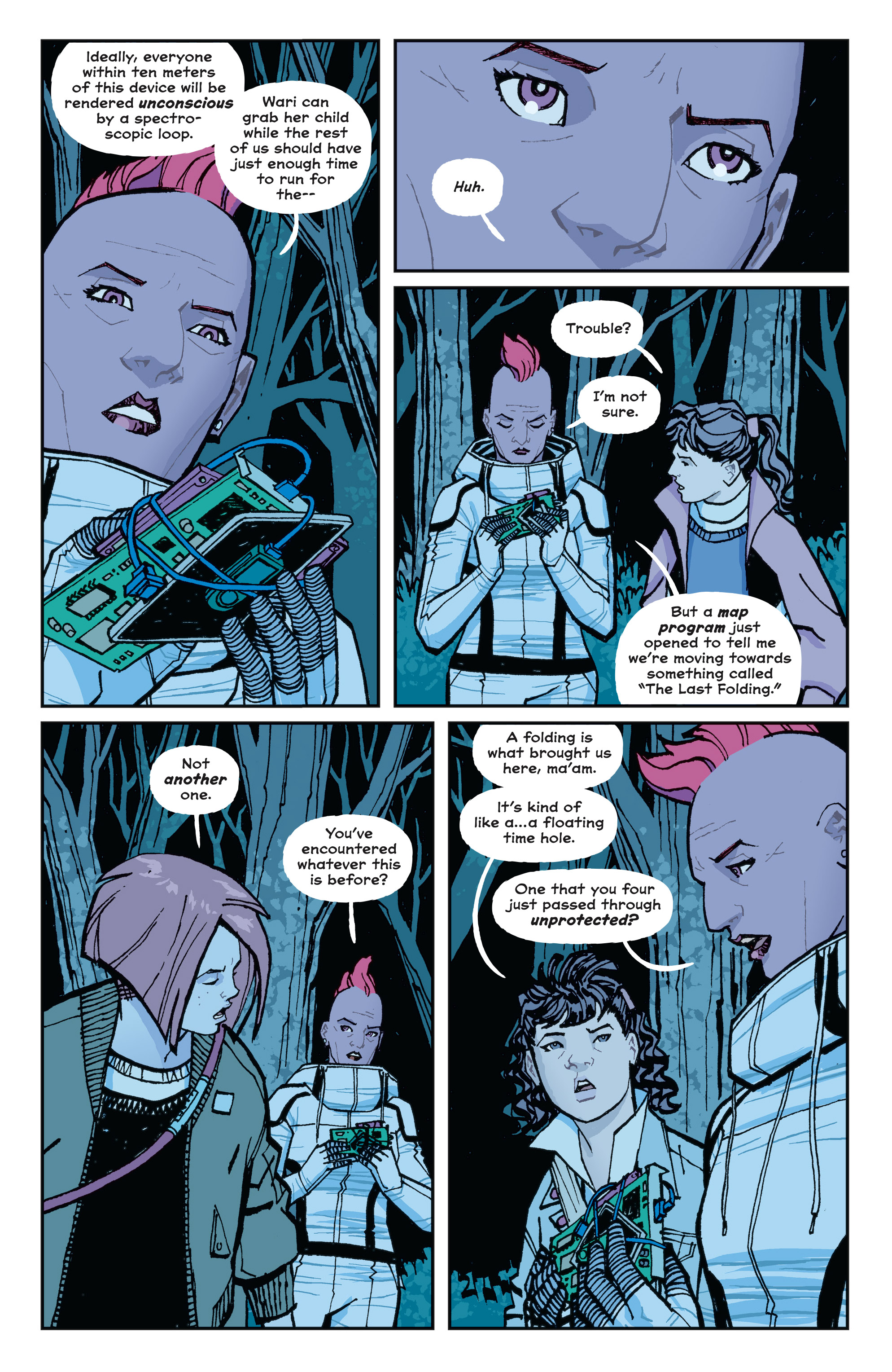 Read online Paper Girls comic -  Issue #15 - 15