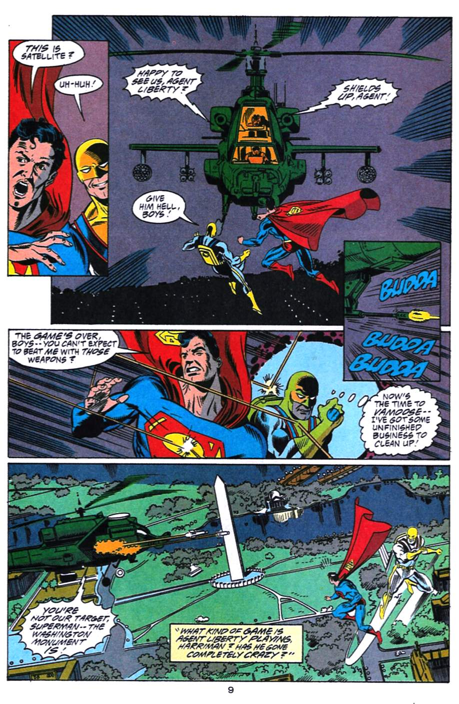 Read online Adventures of Superman (1987) comic -  Issue #492 - 10