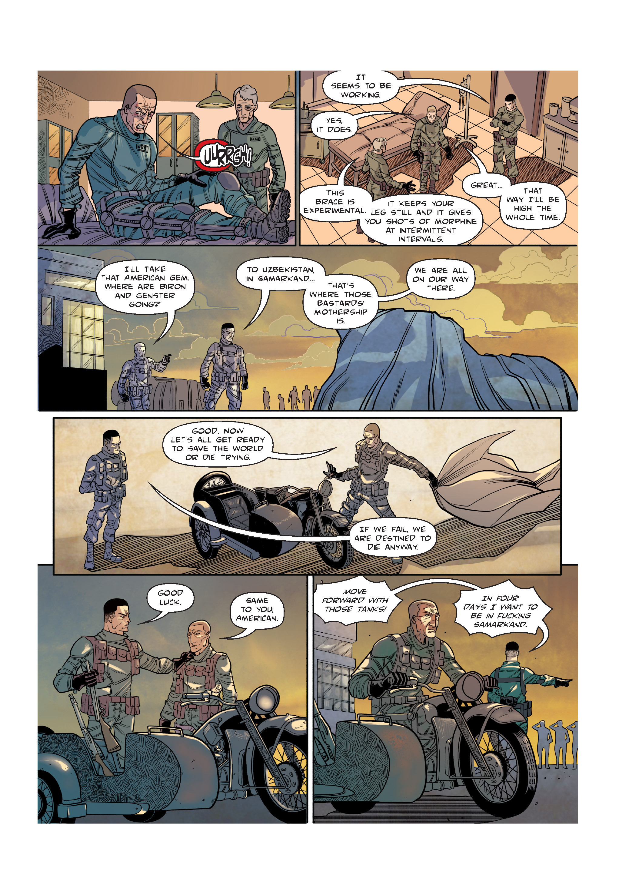 Read online The Shadow of a Terrible Thing comic -  Issue # TPB - 101