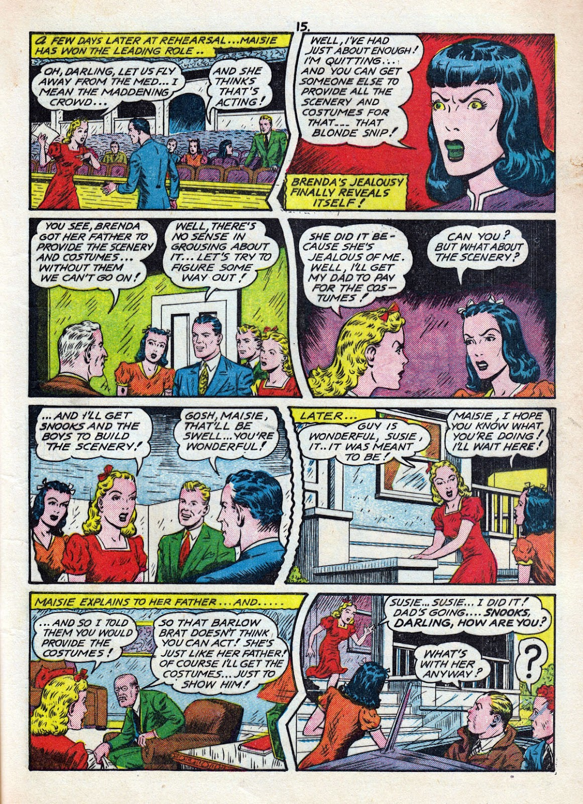 Read online Comedy Comics (1942) comic -  Issue #11 - 17