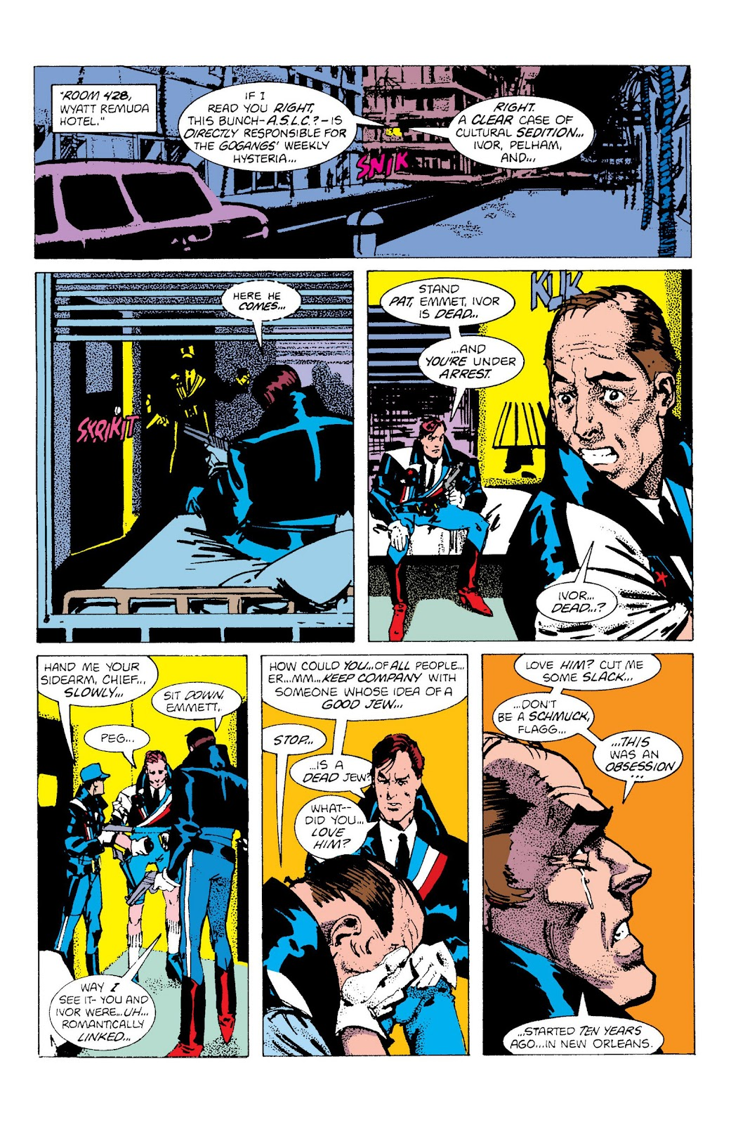 American Flagg! issue Definitive Collection (Part 2) - Page 99