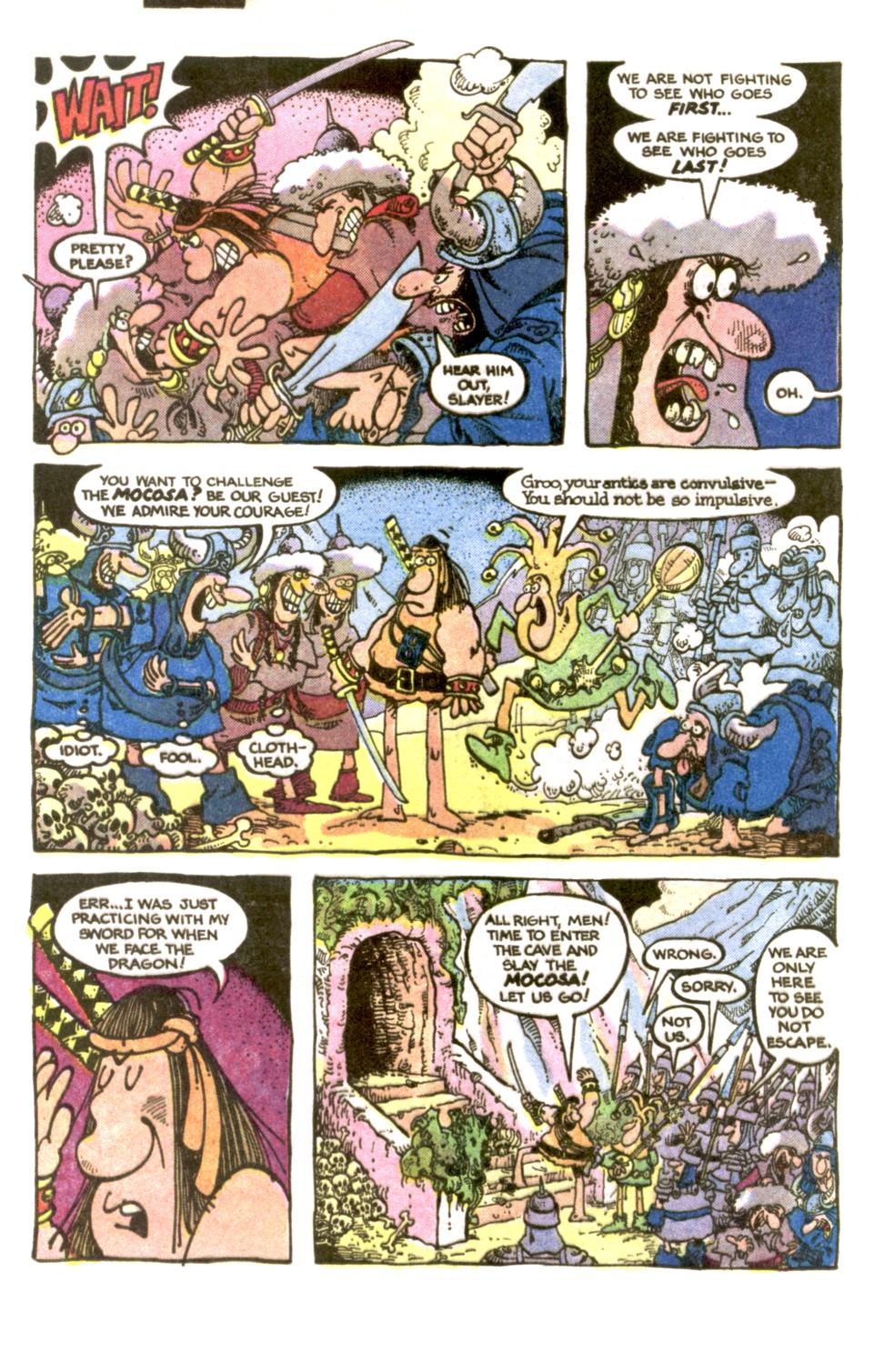 Read online Sergio Aragonés Groo the Wanderer comic -  Issue #2 - 10