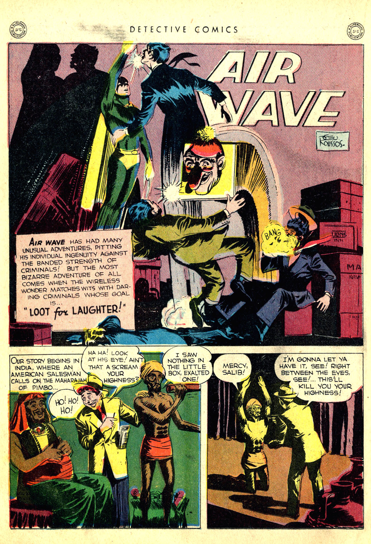 Read online Detective Comics (1937) comic -  Issue #91 - 26