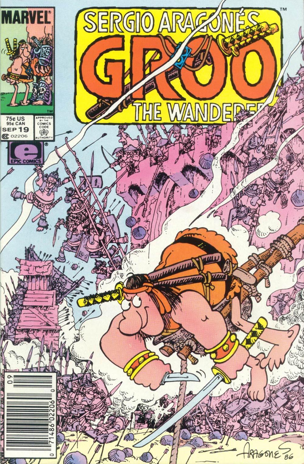 Read online Sergio Aragonés Groo the Wanderer comic -  Issue #19 - 1