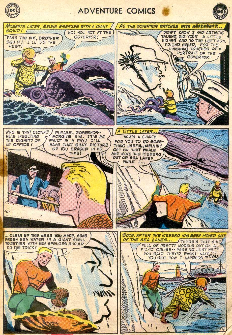Read online Adventure Comics (1938) comic -  Issue #242 - 21