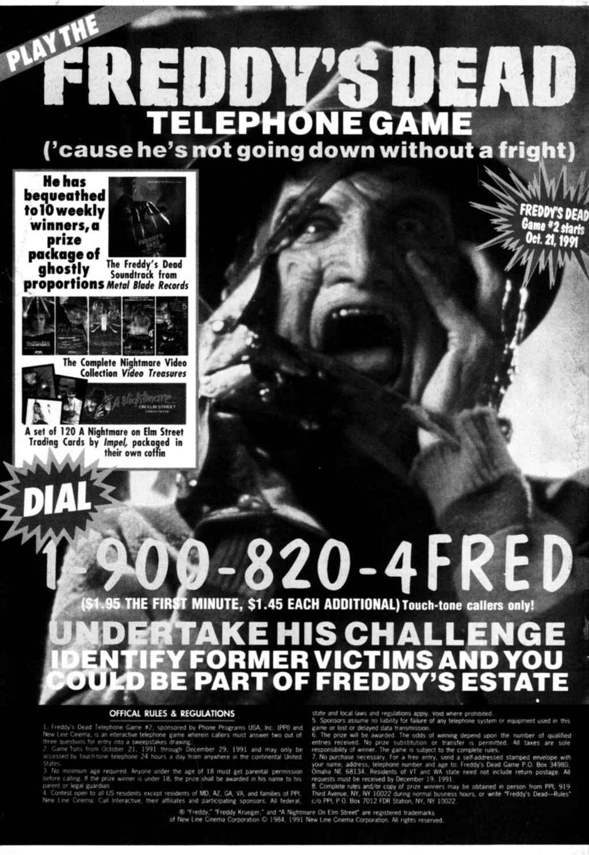 Read online Freddy's Dead: The Final Nightmare comic -  Issue #1 - 30