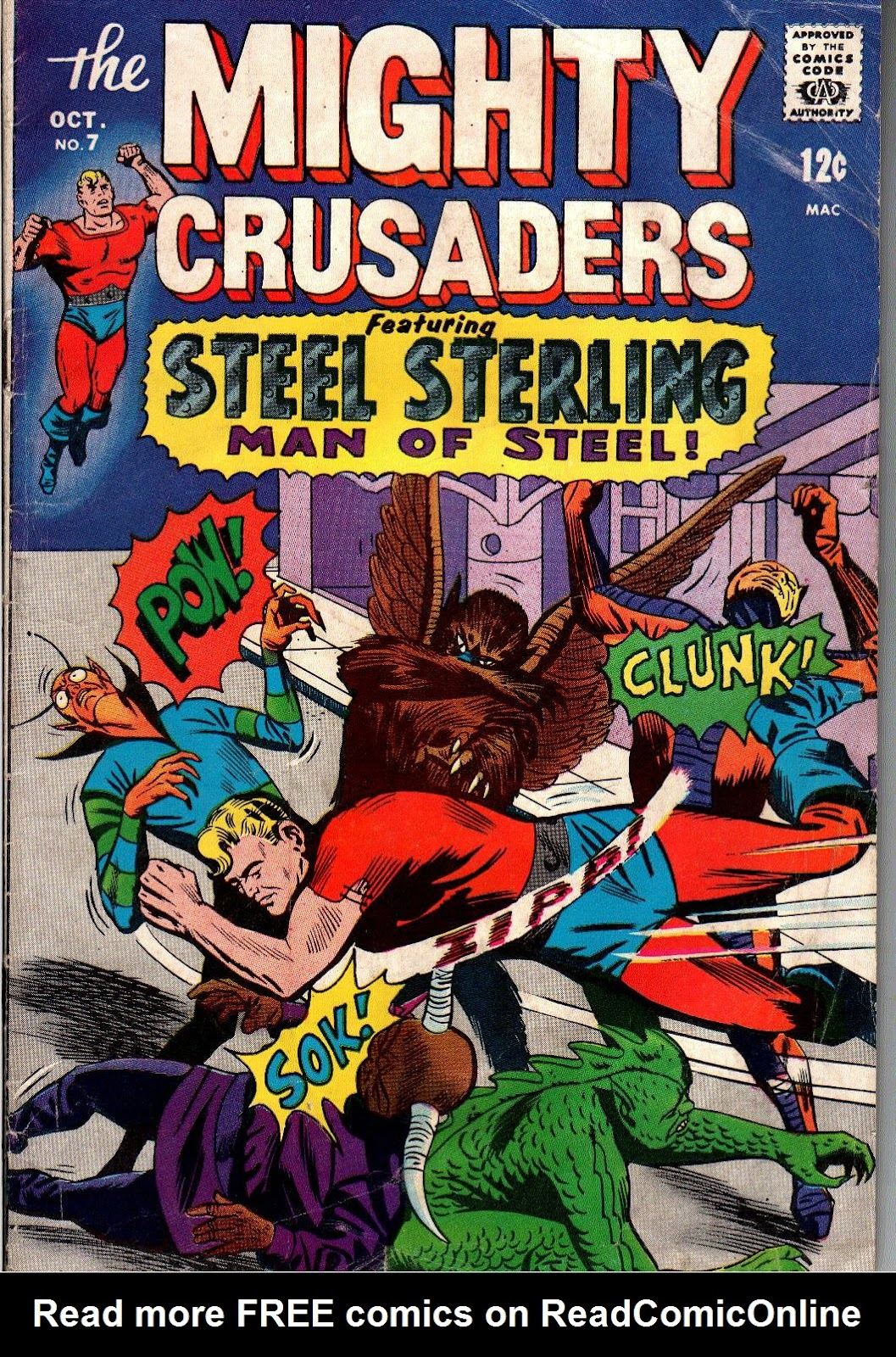 The Mighty Crusaders (1965) Issue #7 #7 - English 1
