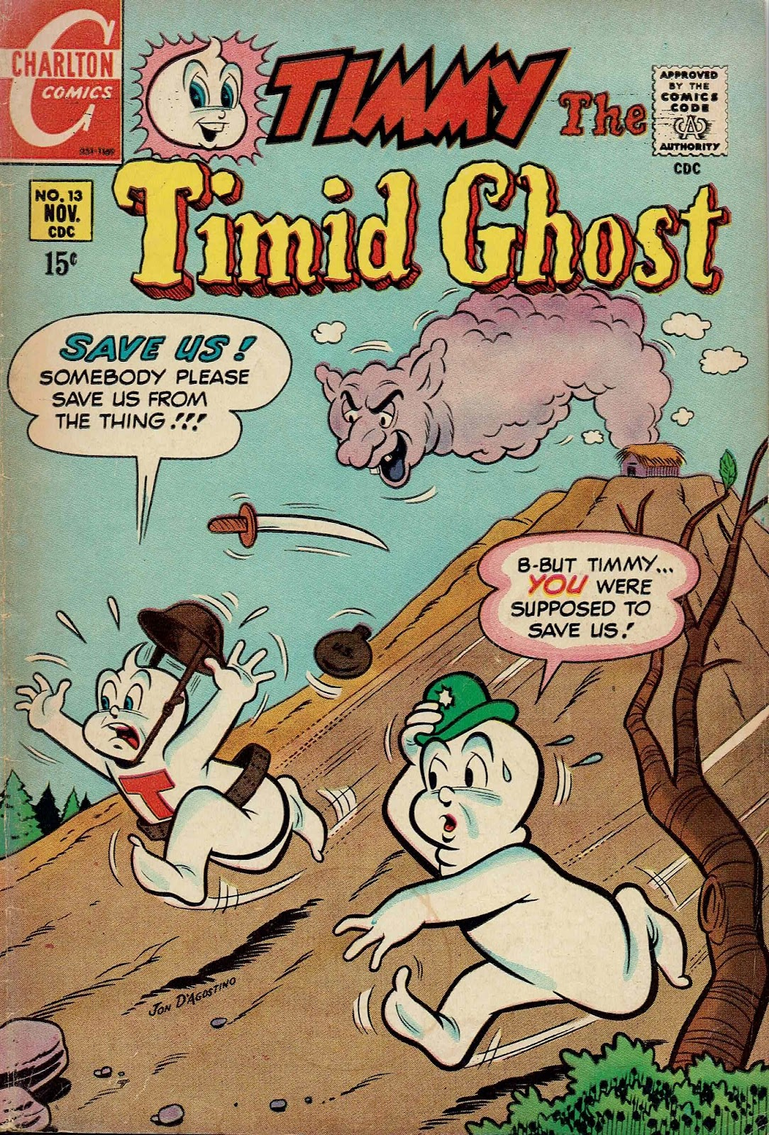 Timmy the Timid Ghost issue 13 - Page 1