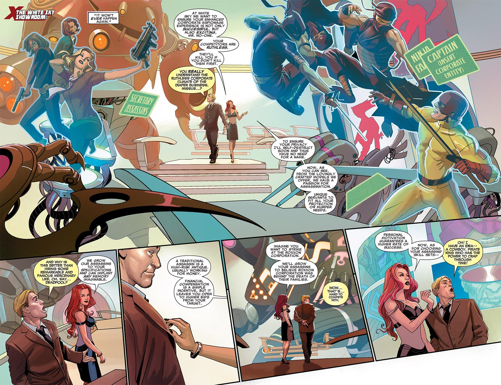 Uncanny X-Force (2010) #25 #27 - English 8