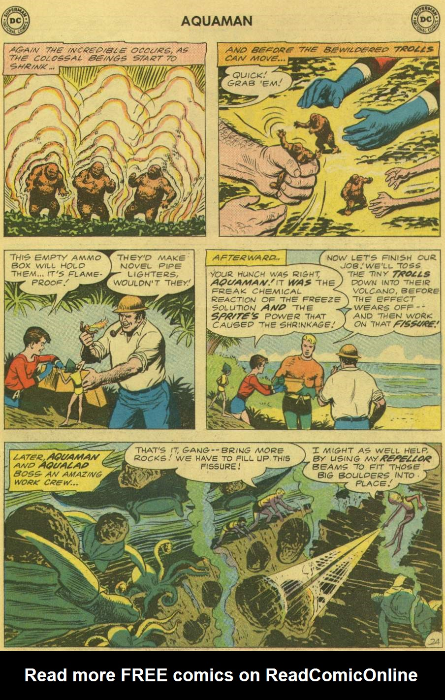 Read online Aquaman (1962) comic -  Issue #1 - 31