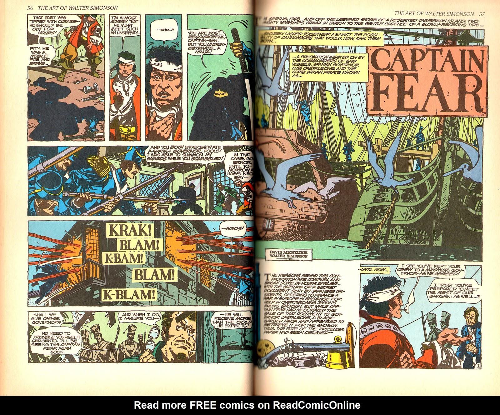 Read online The Art of Walter Simonson comic -  Issue # TPB - 30