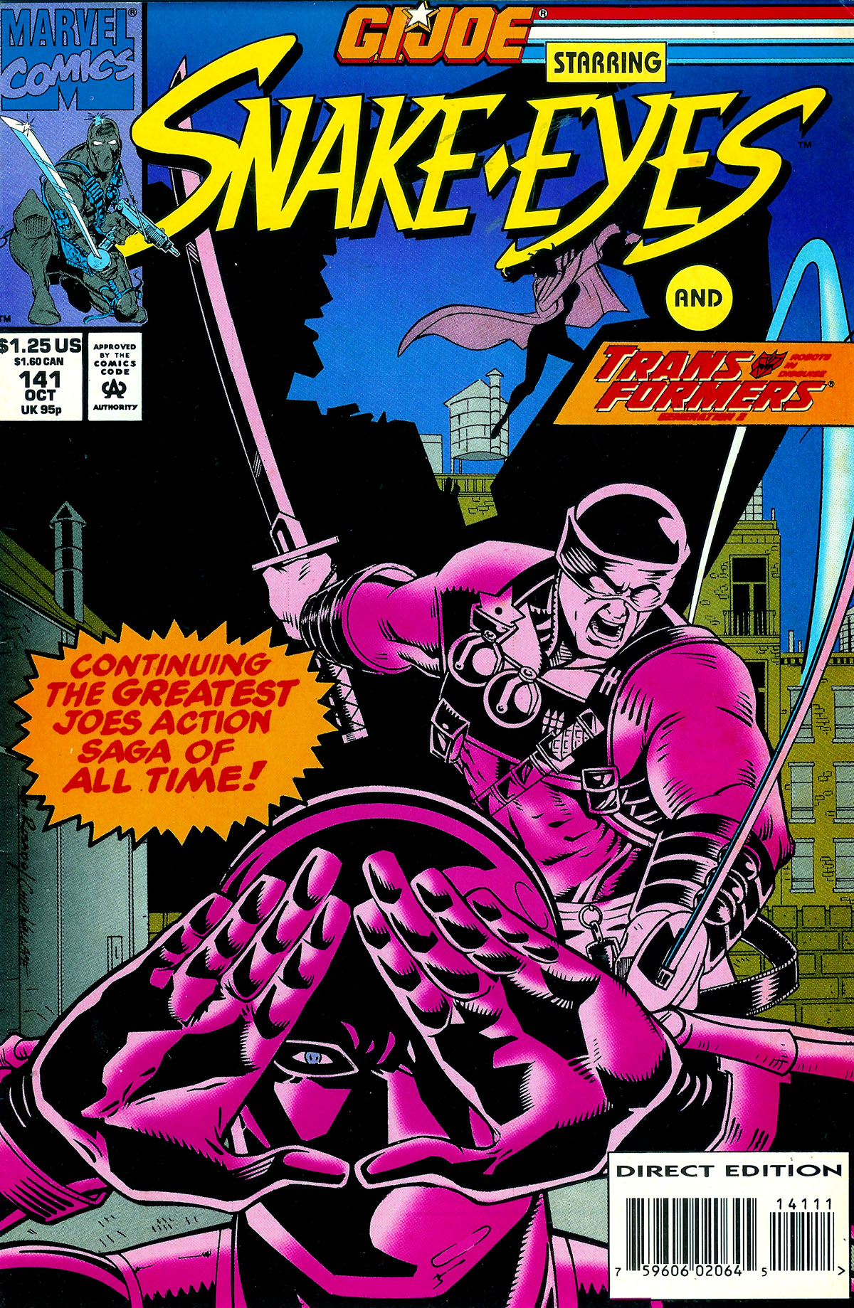 G.I. Joe: A Real American Hero 141 Page 1