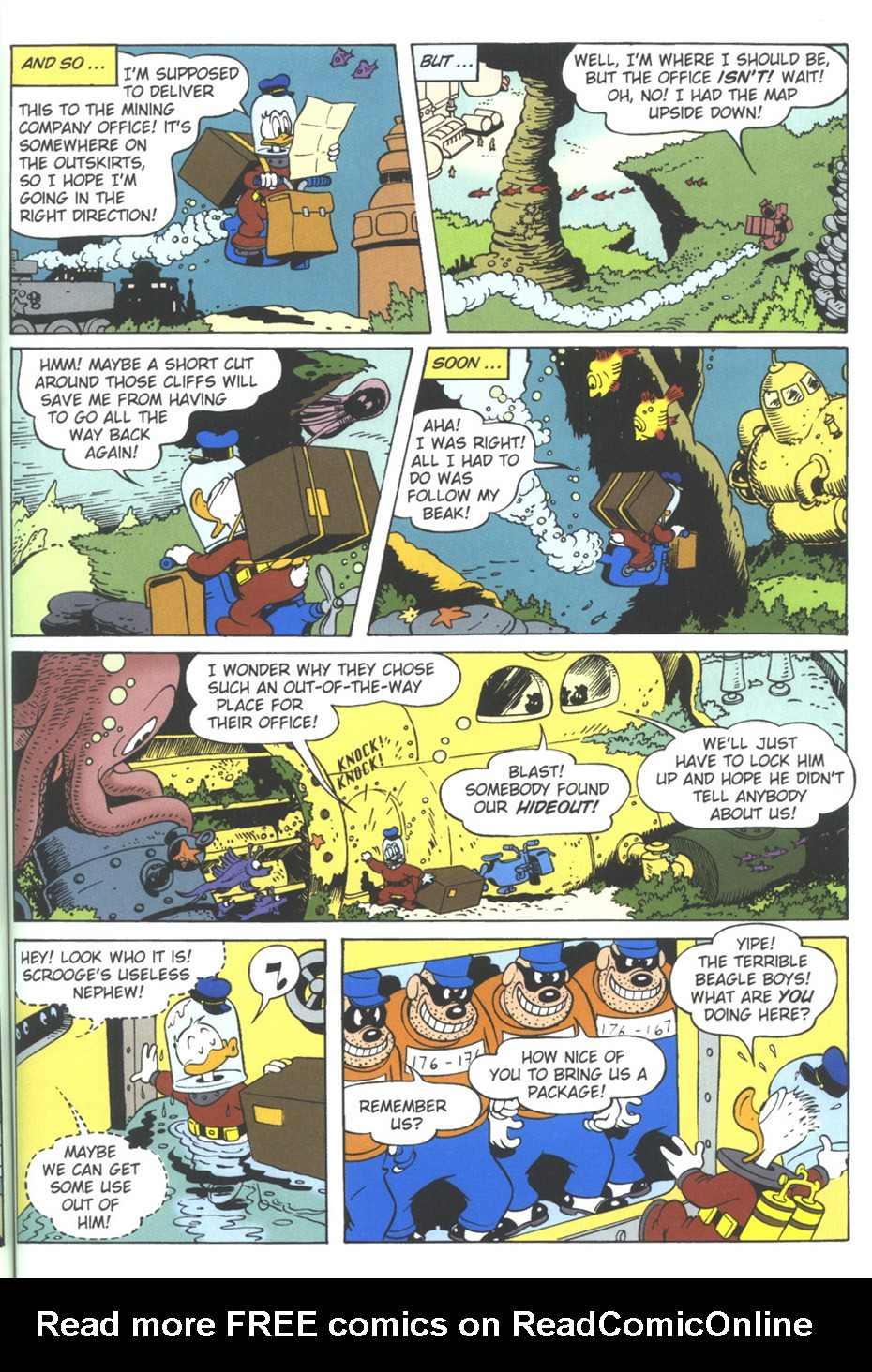 Read online Uncle Scrooge (1953) comic -  Issue #309 - 41