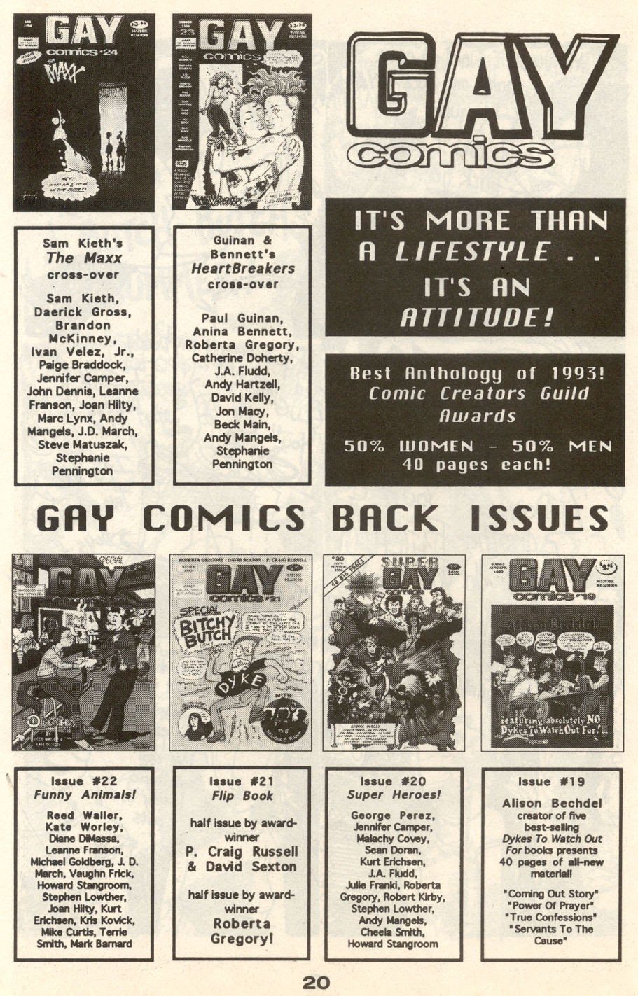 Gay Comix (Gay Comics) issue 24 - Page 23