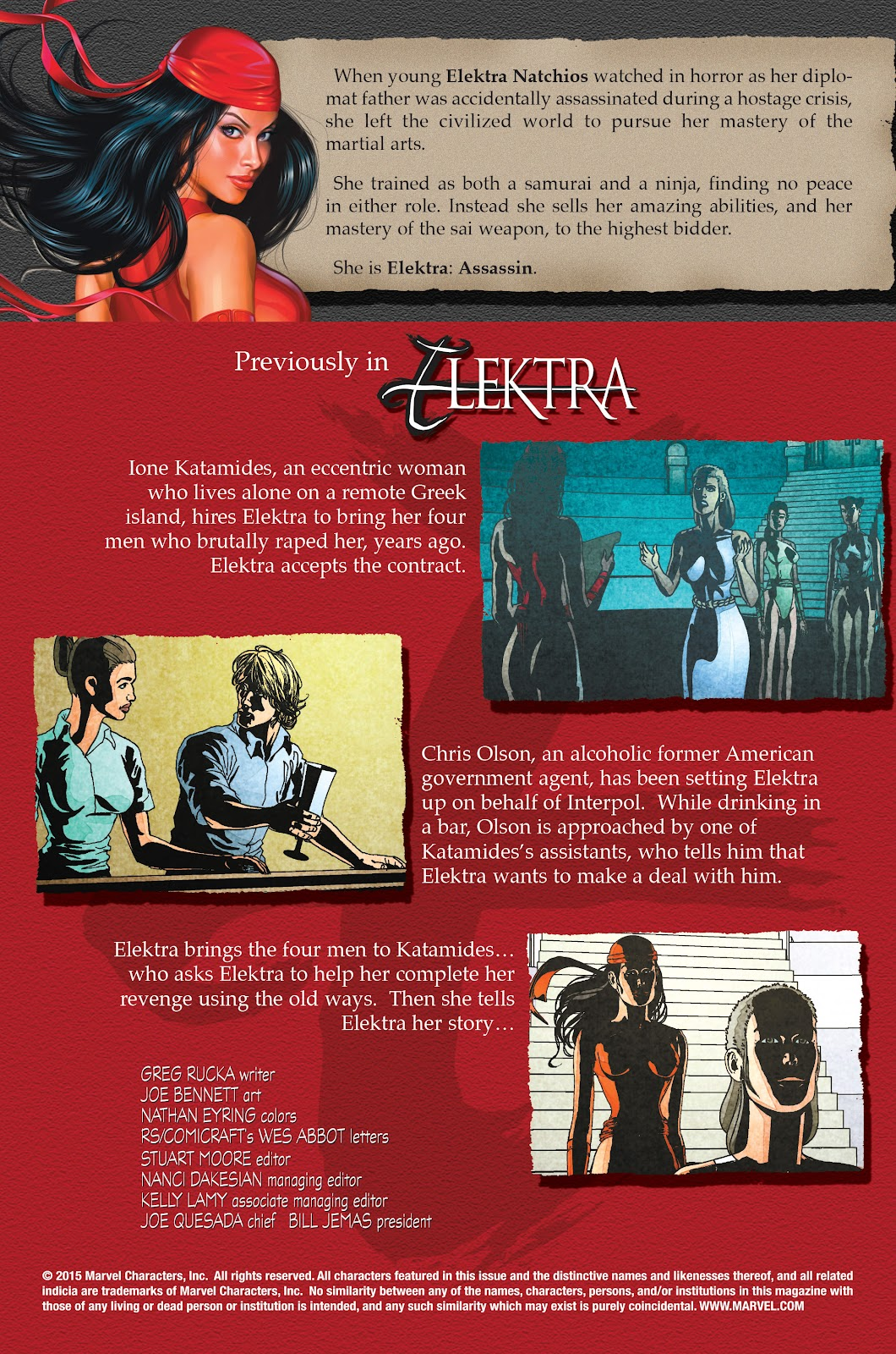 Read online Elektra (2001) comic -  Issue # _TPB Elektra by Greg Rucka Ultimate Collection (Part 1) - 51