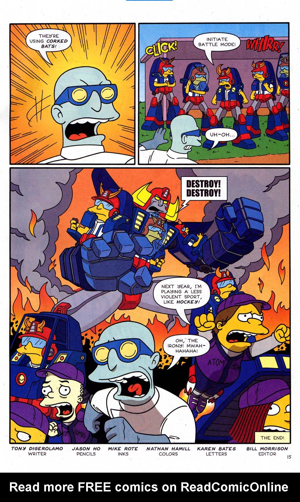 Read online Simpsons Comics Presents Bart Simpson comic -  Issue #21 - 17