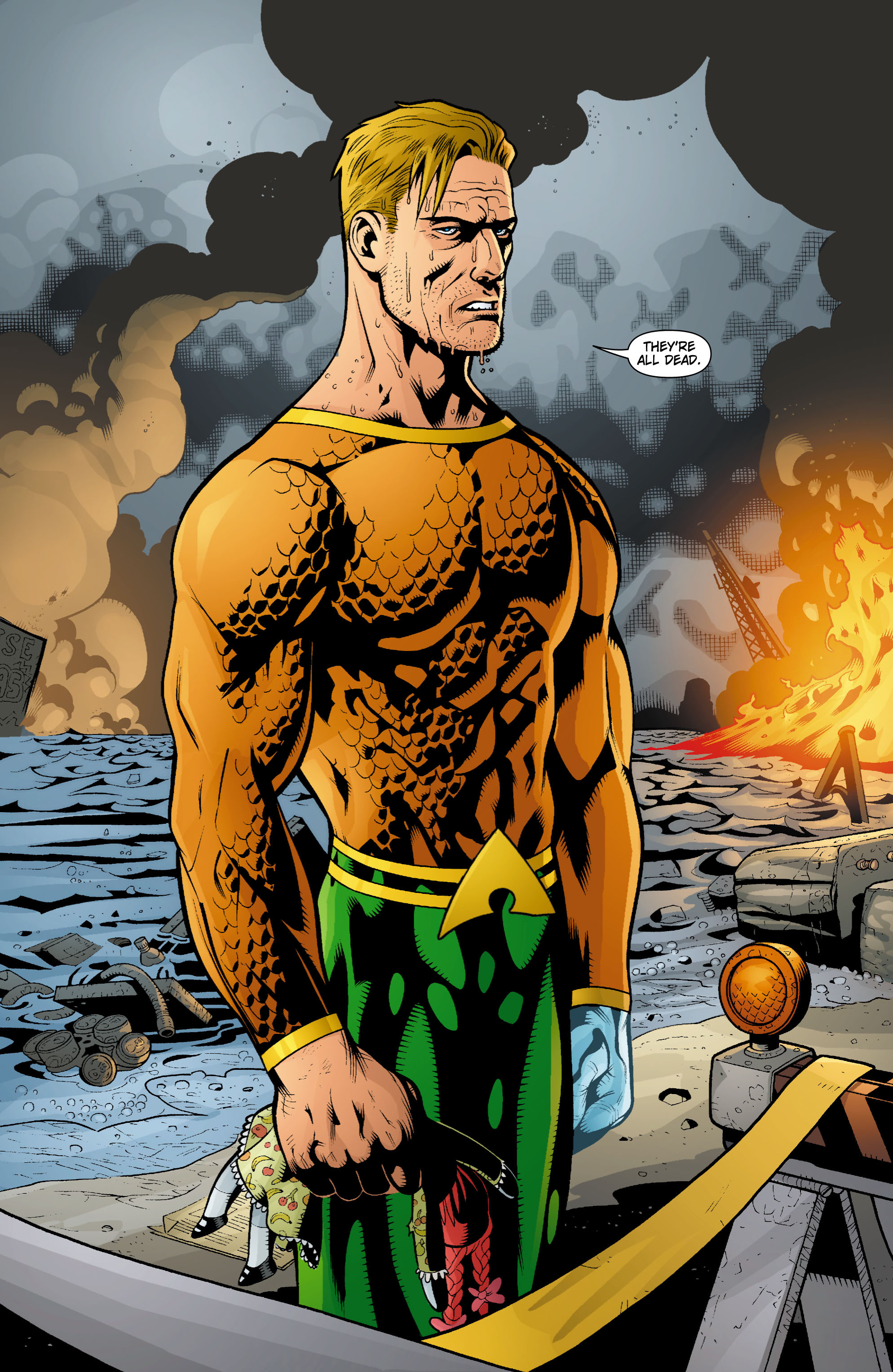 Read online Aquaman (2003) comic -  Issue #15 - 8