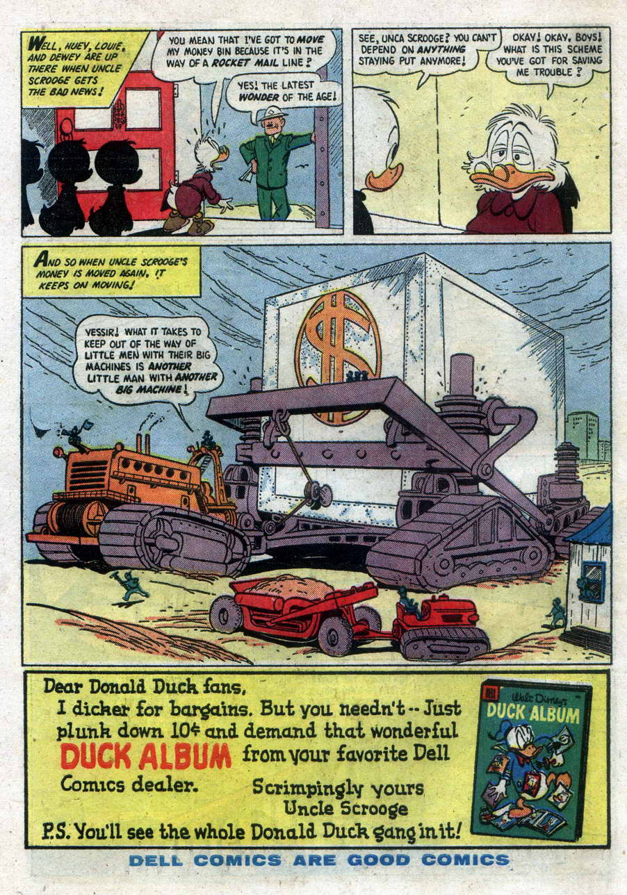 Read online Uncle Scrooge (1953) comic -  Issue #15 - 34