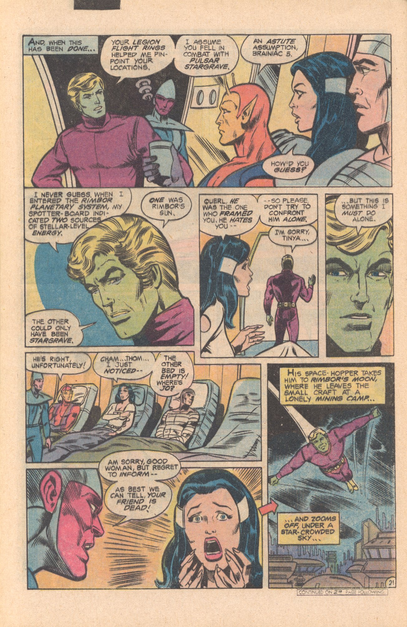 Legion of Super-Heroes (1980) 273 Page 21