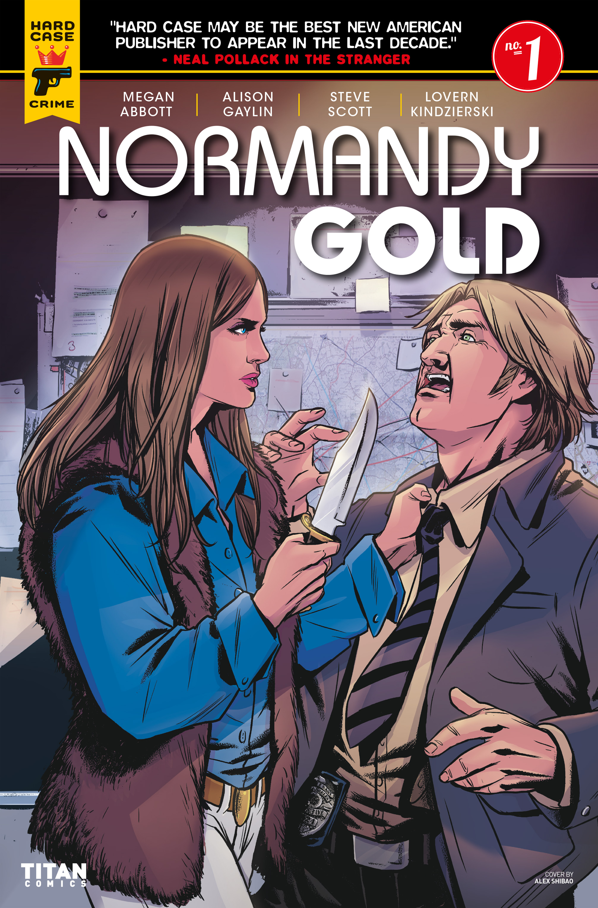 Read online Normandy Gold comic -  Issue #1 - 3