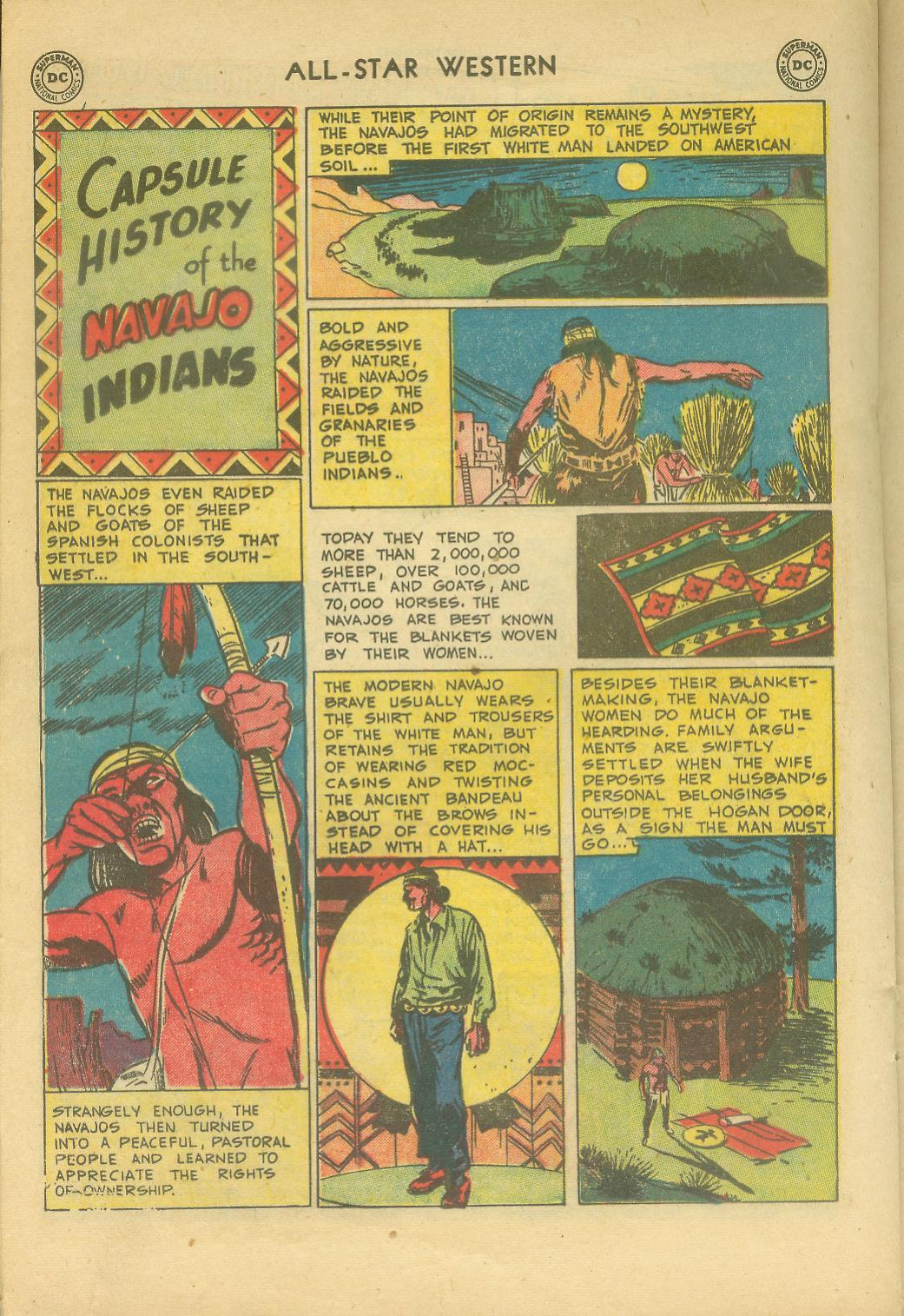 Read online All-Star Western (1951) comic -  Issue #65 - 20