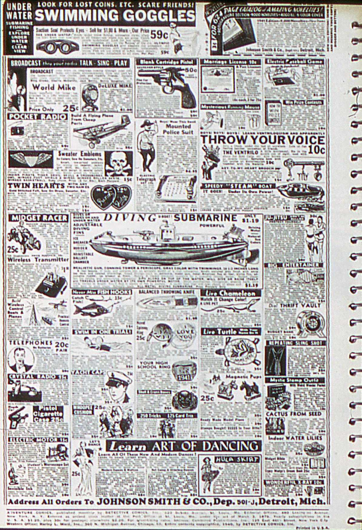 Read online Adventure Comics (1938) comic -  Issue #55 - 3