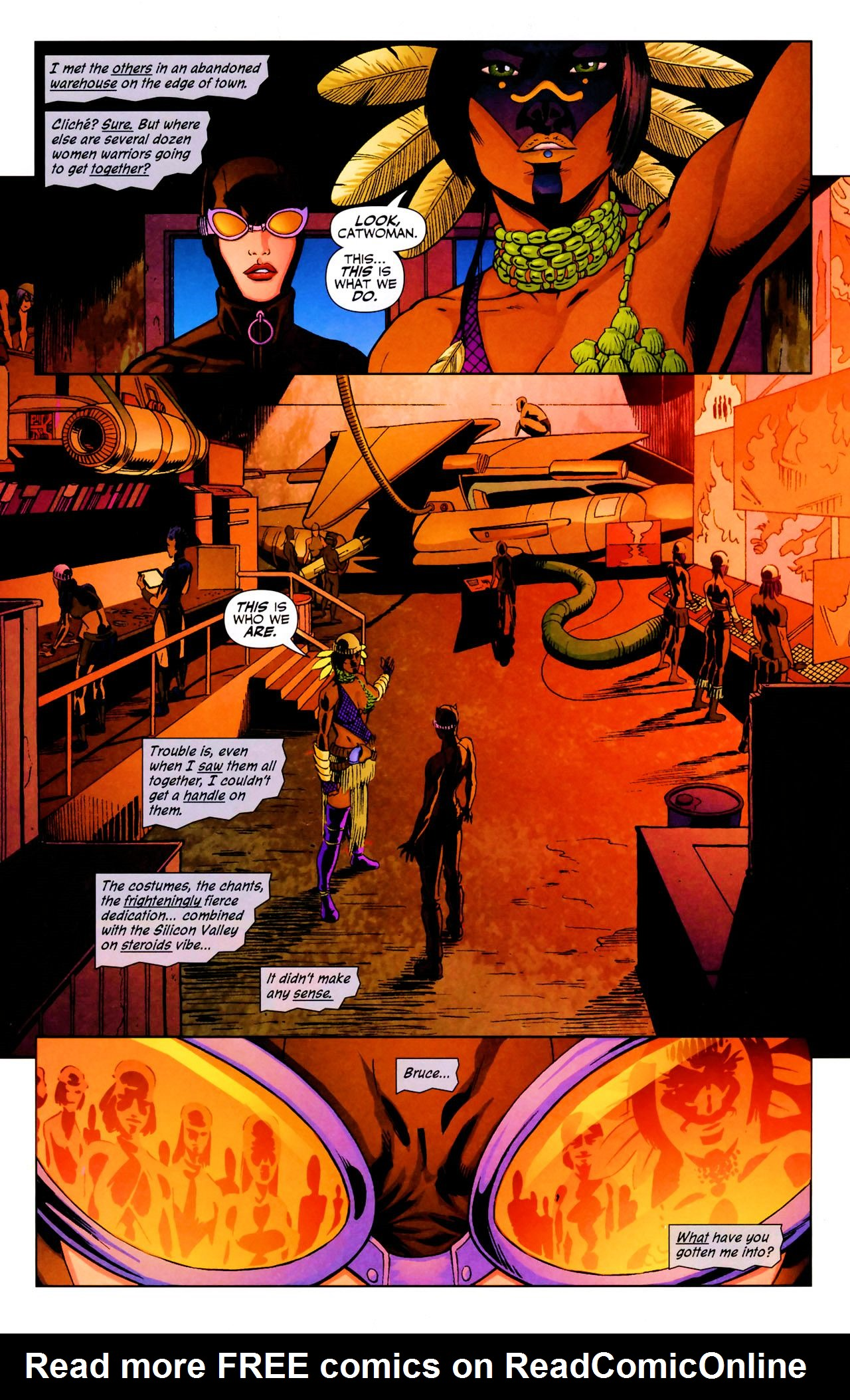Read online Catwoman (2002) comic -  Issue #69 - 16