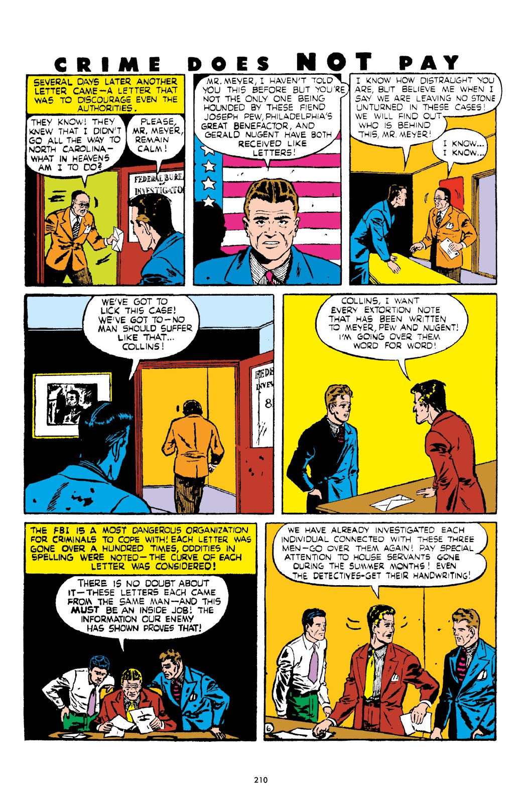 Read online Crime Does Not Pay Archives comic -  Issue # TPB 5 (Part 3) - 10