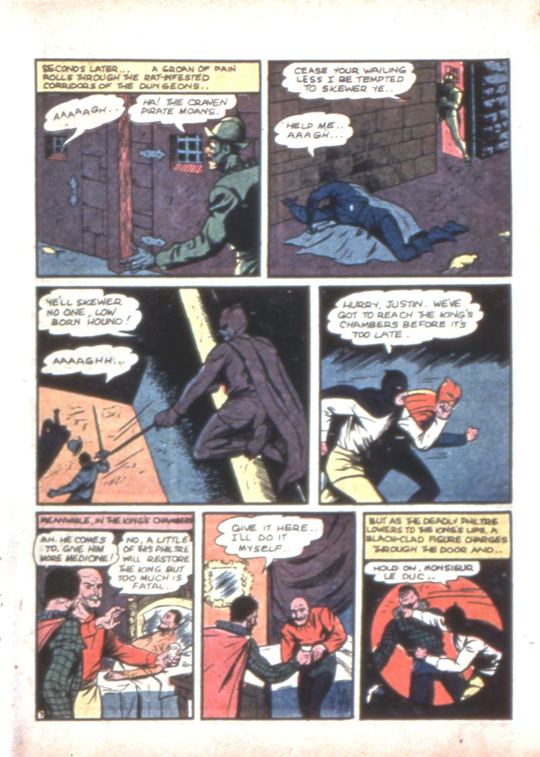 Read online Sensation (Mystery) Comics comic -  Issue #11 - 23