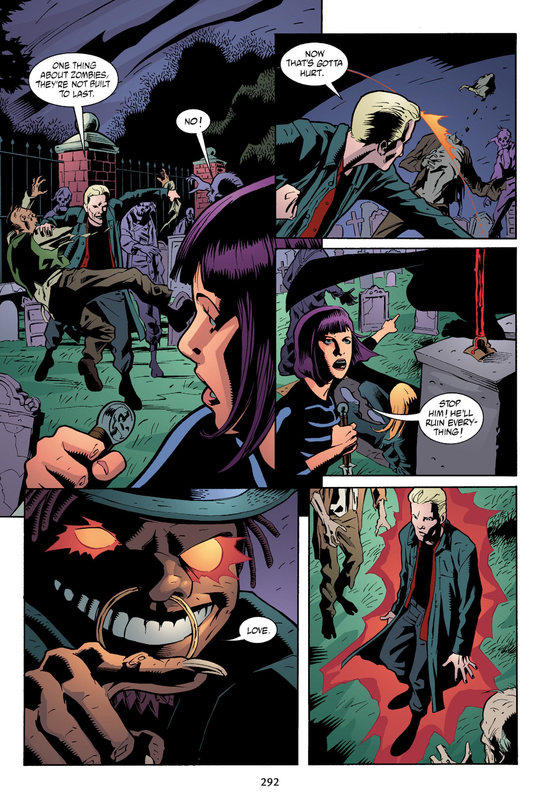 Read online Buffy the Vampire Slayer: Omnibus comic -  Issue # TPB 5 - 291