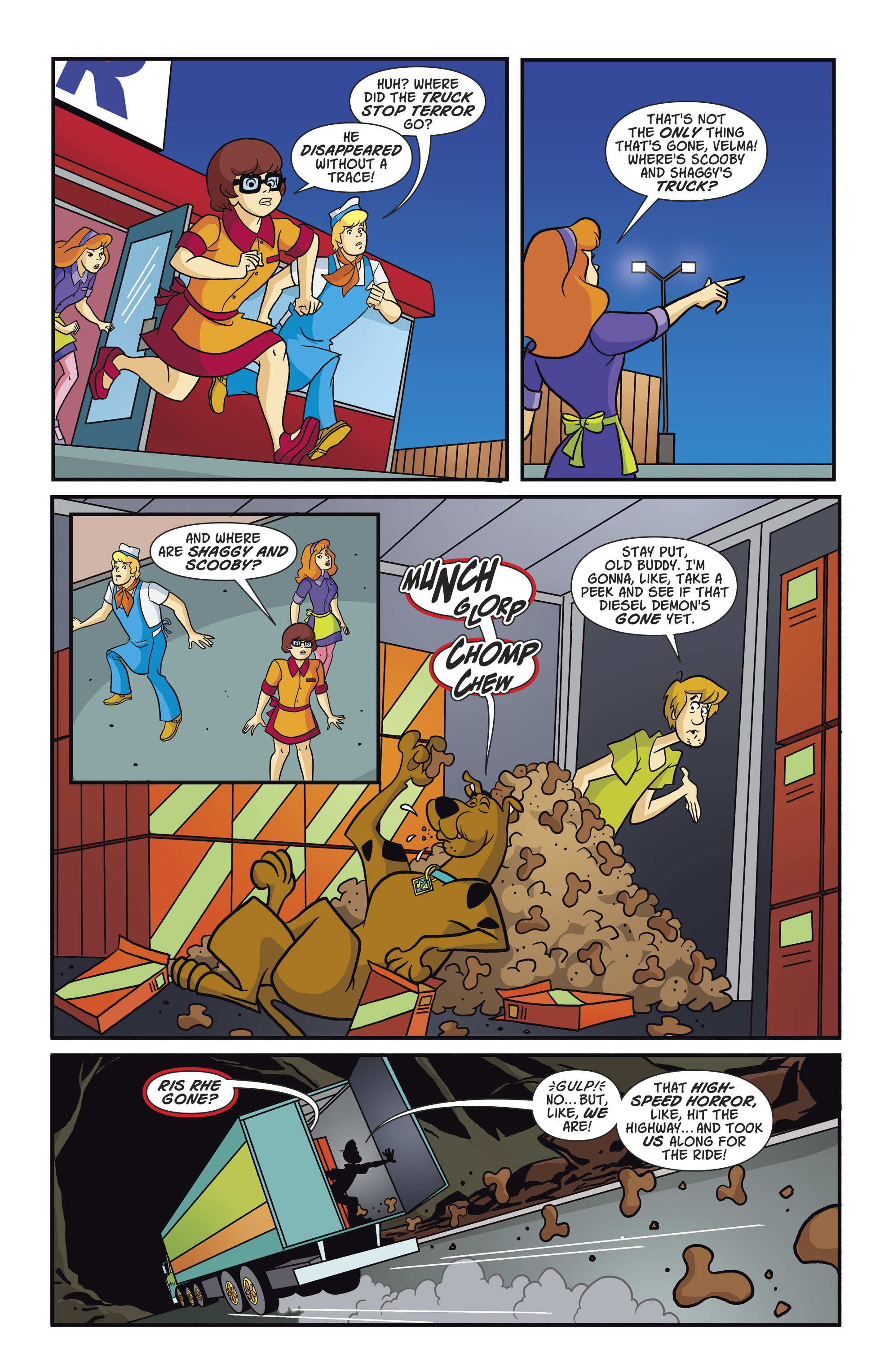 Read online Scooby-Doo: Where Are You? comic -  Issue #82 - 7