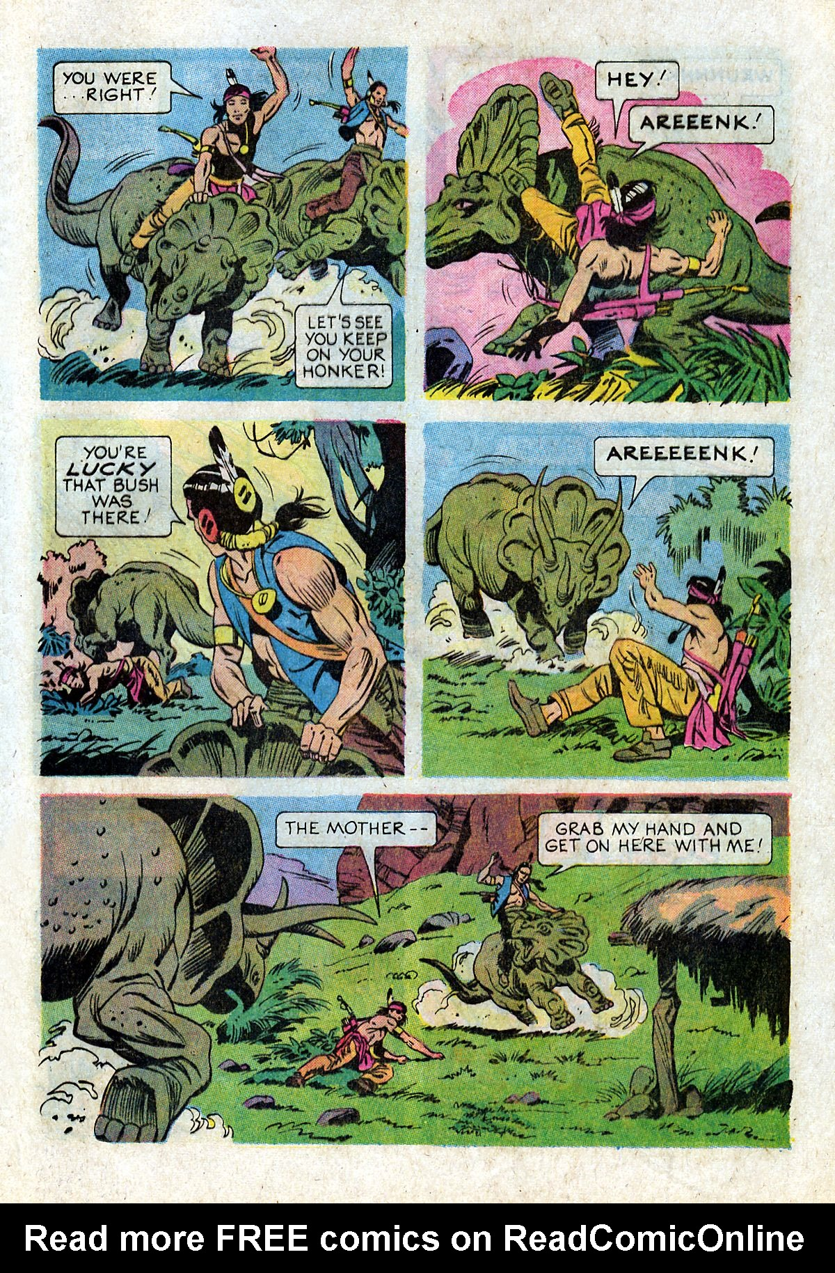 Read online Turok, Son of Stone comic -  Issue #93 - 25