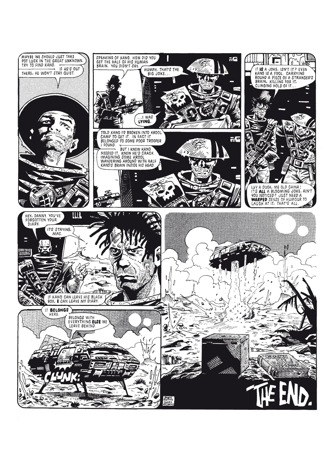 Read online The Complete Bad Company comic -  Issue # TPB - 122
