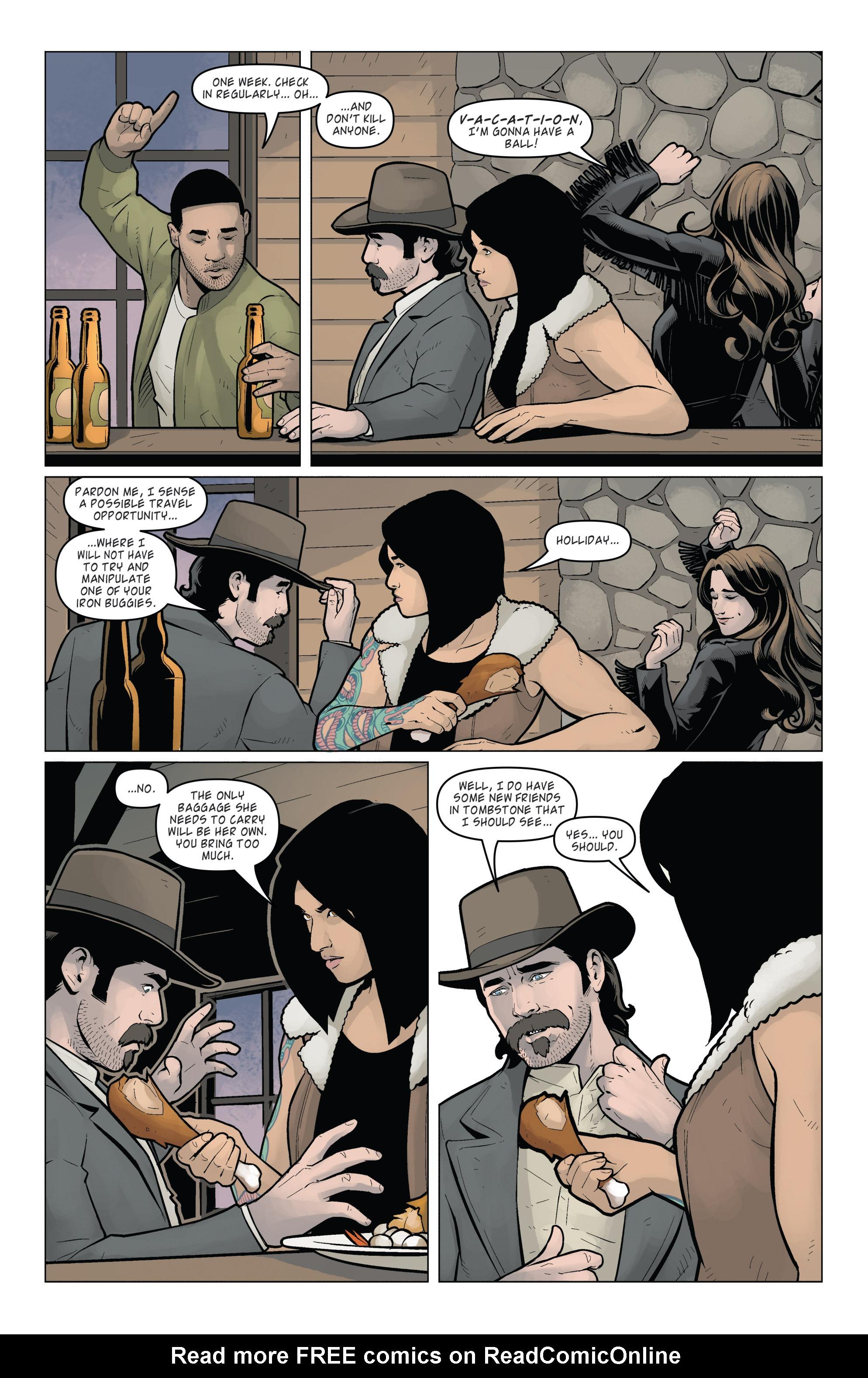 Read online Wynonna Earp (2016) comic -  Issue #7 - 6