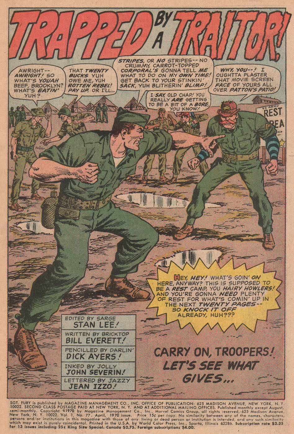 Read online Sgt. Fury comic -  Issue #77 - 3