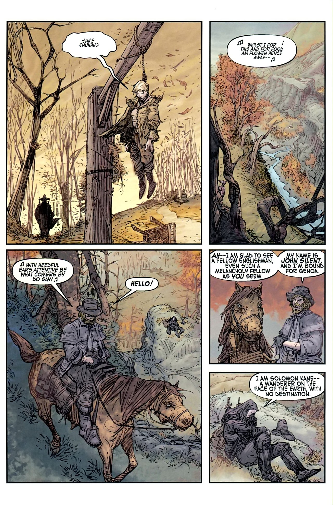 Read online Solomon Kane comic -  Issue #1 - 11