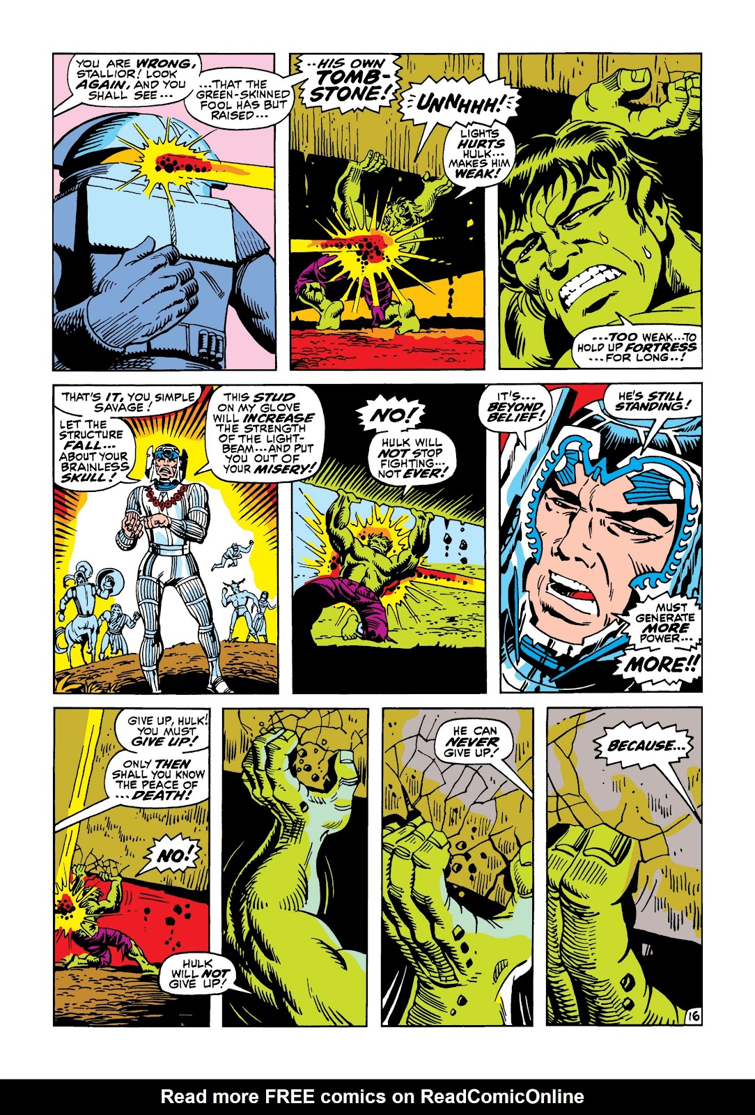 Read online Marvel Masterworks: The Incredible Hulk comic -  Issue # TPB 5 (Part 3) - 11